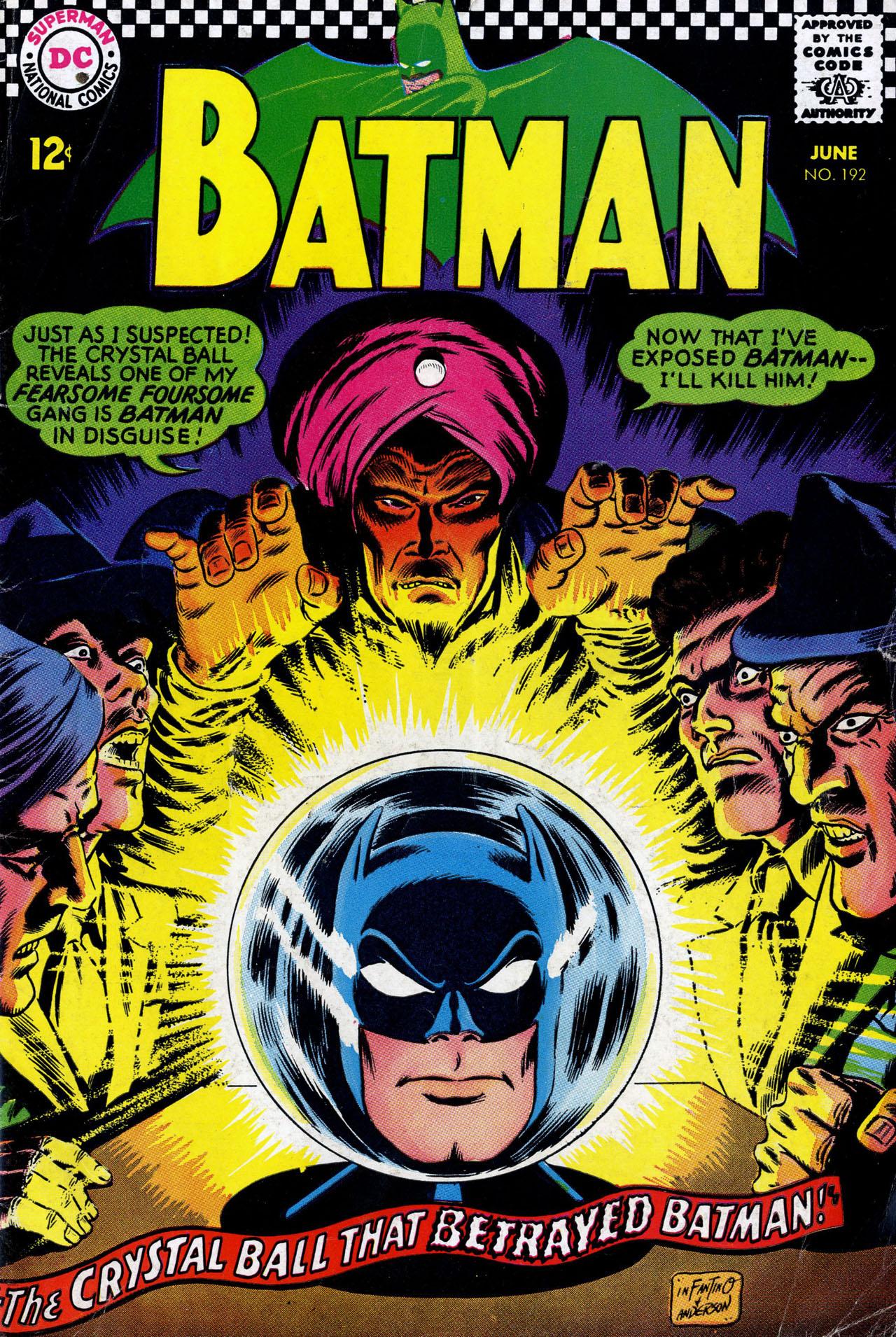 Batman (1940) 192 Page 1