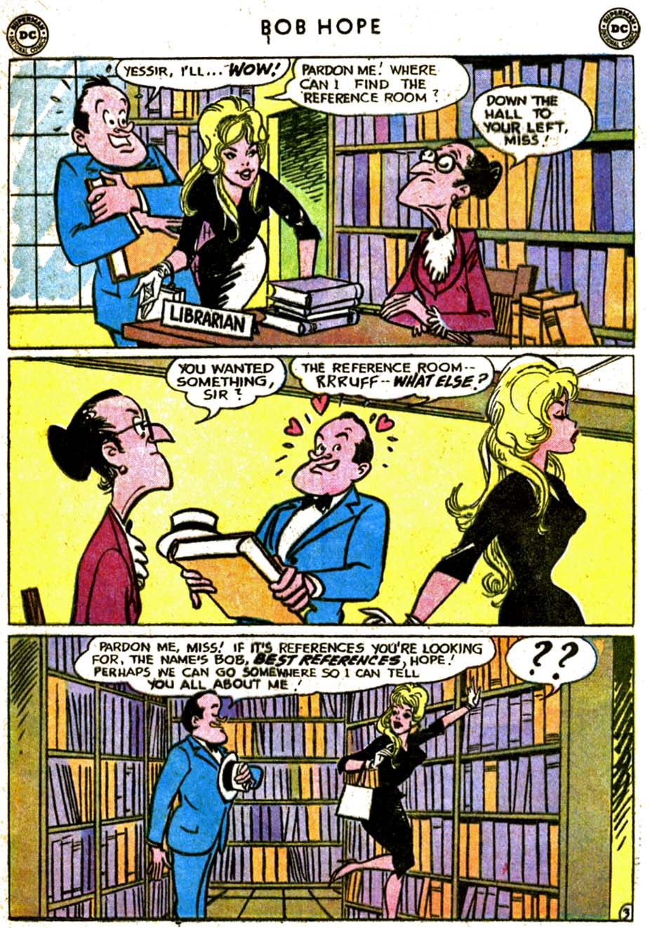 The Adventures of Bob Hope issue 77 - Page 5