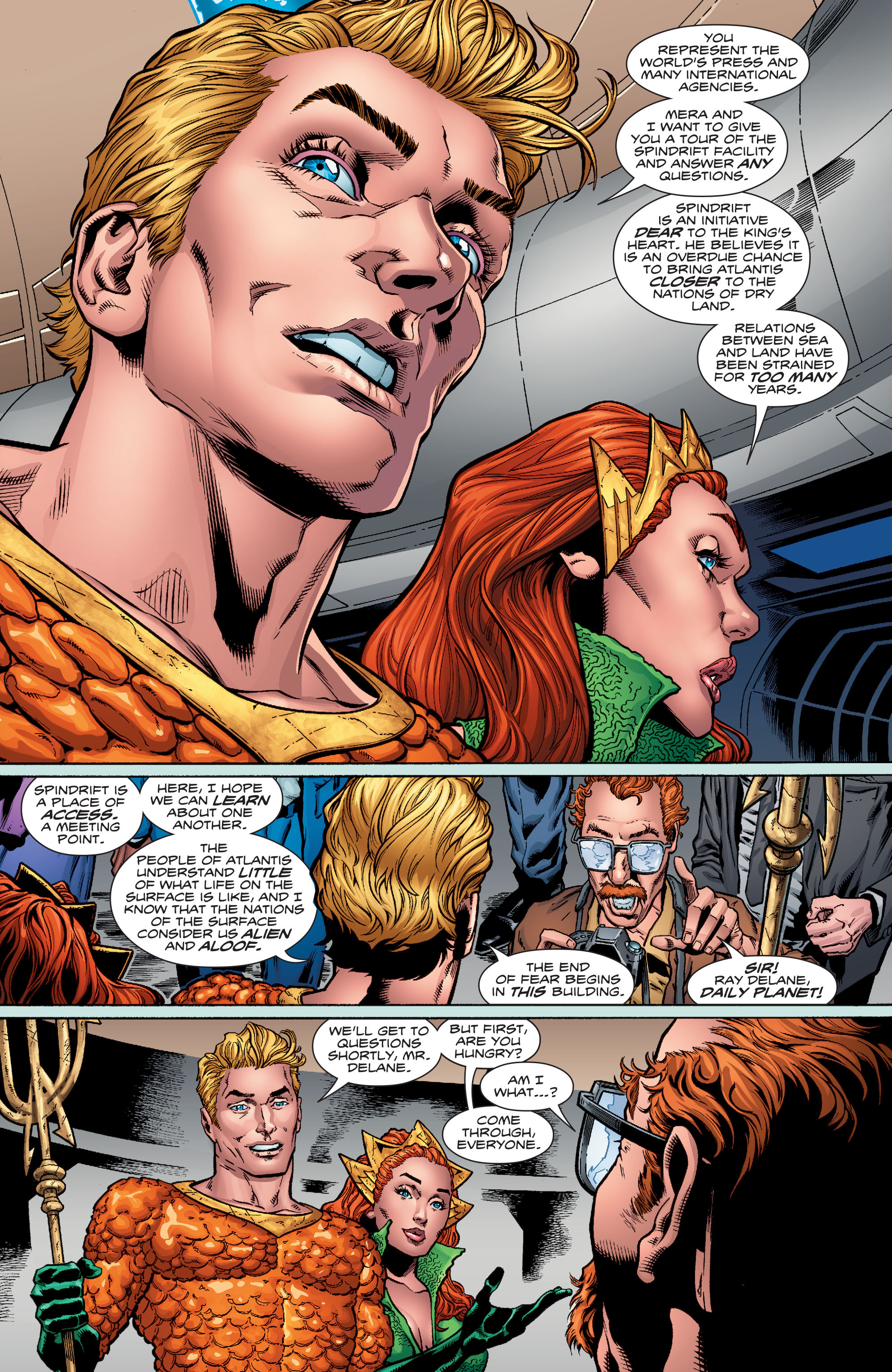 Read online Aquaman (2016) comic -  Issue #1 - 12