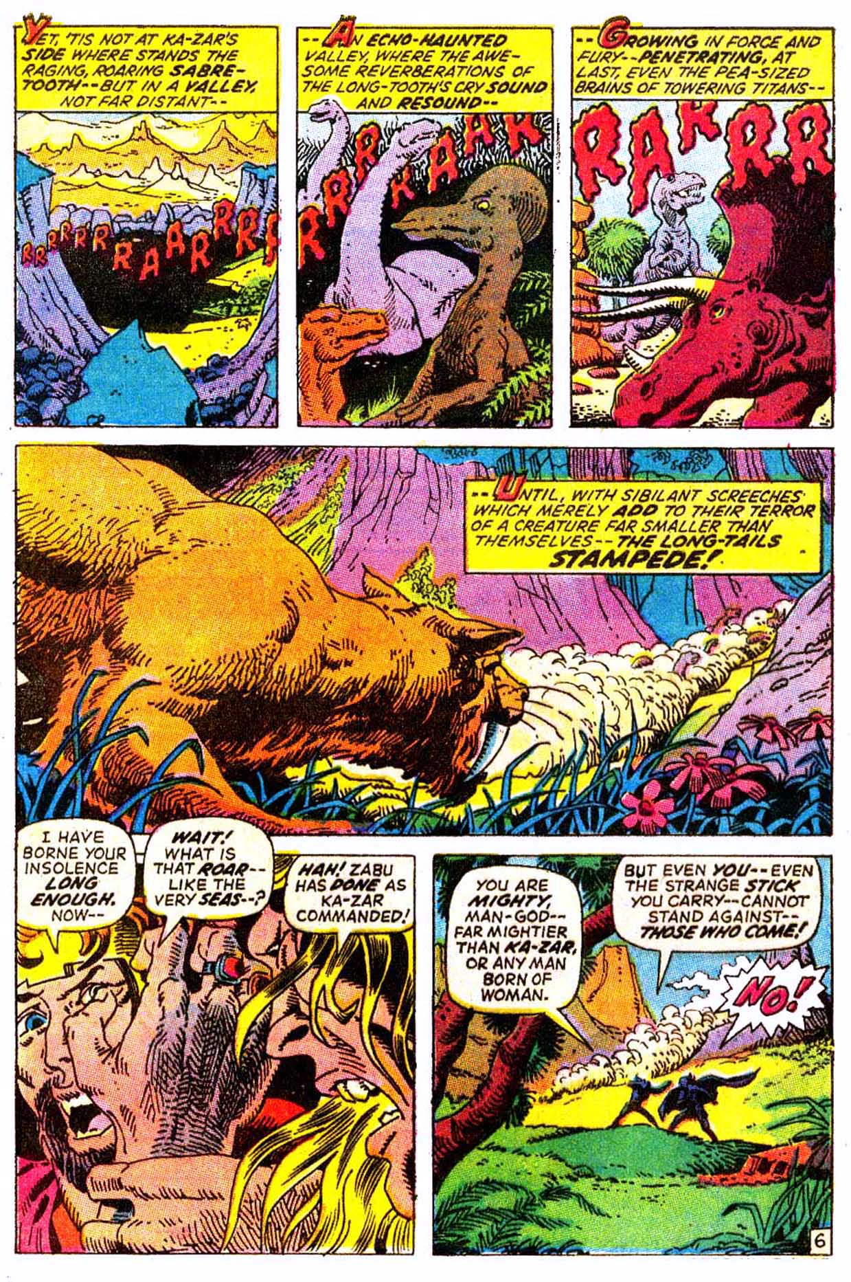 Read online Astonishing Tales (1970) comic -  Issue #7 - 17