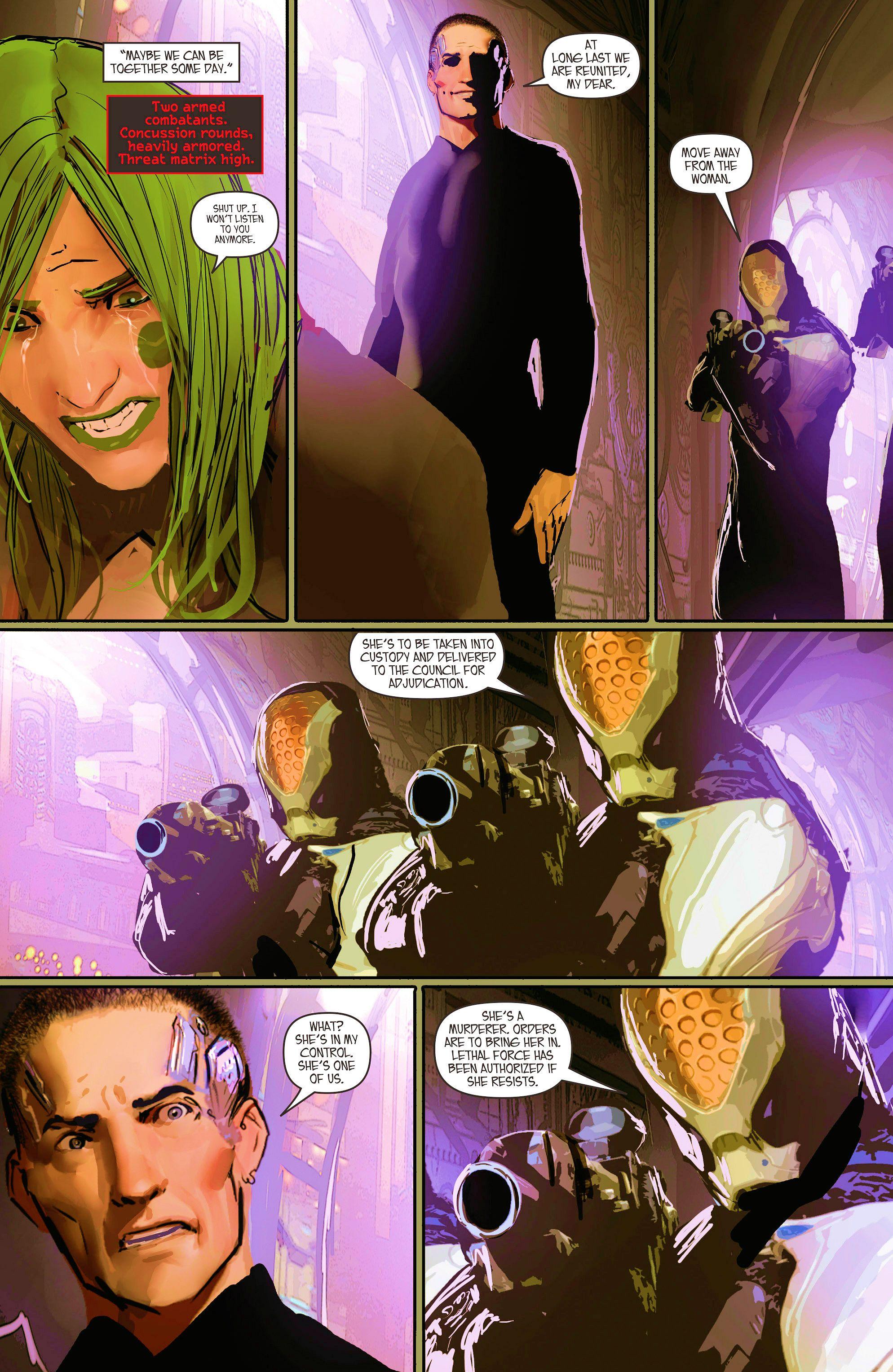 Read online Aphrodite IX (2013) comic -  Issue #10 - 9