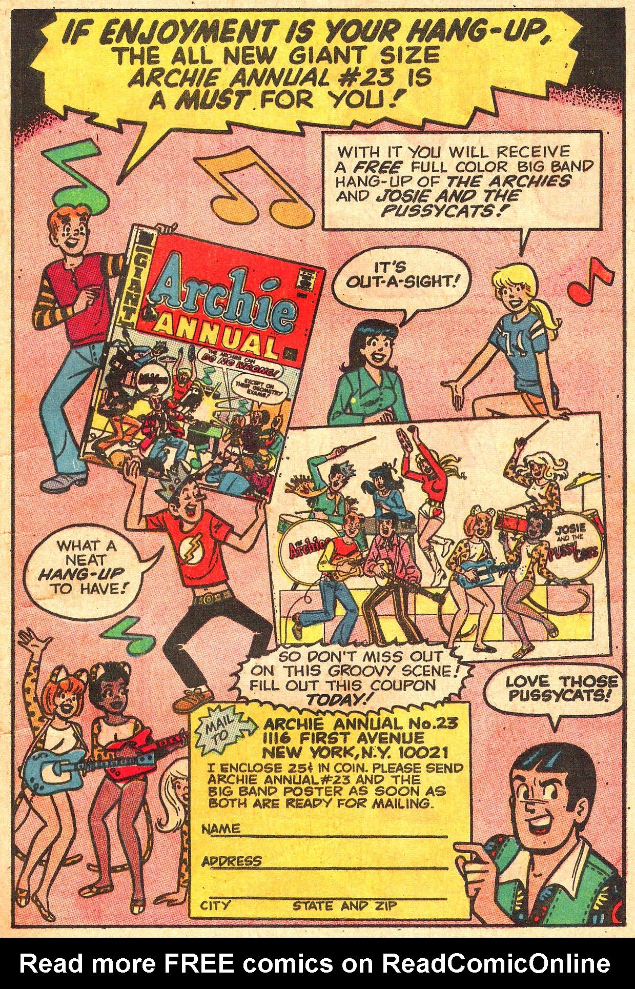 Read online She's Josie comic -  Issue #56 - 19