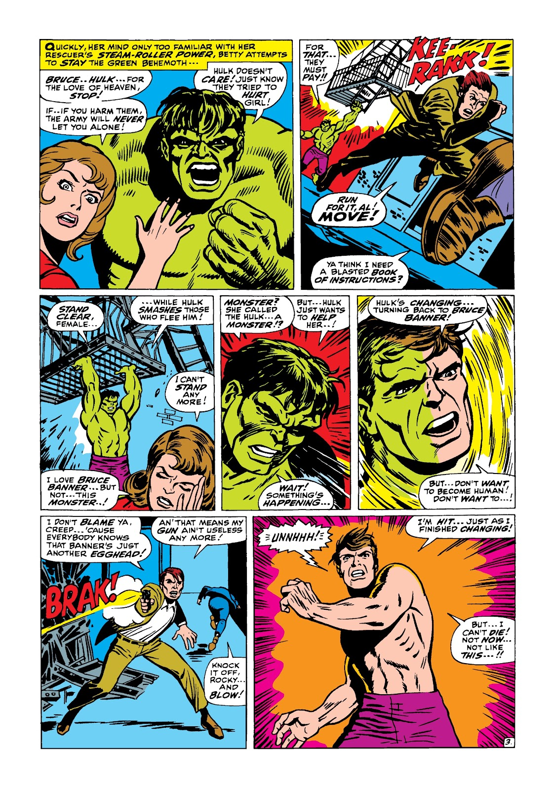 Read online Marvel Masterworks: The Incredible Hulk comic -  Issue # TPB 4 (Part 1) - 52