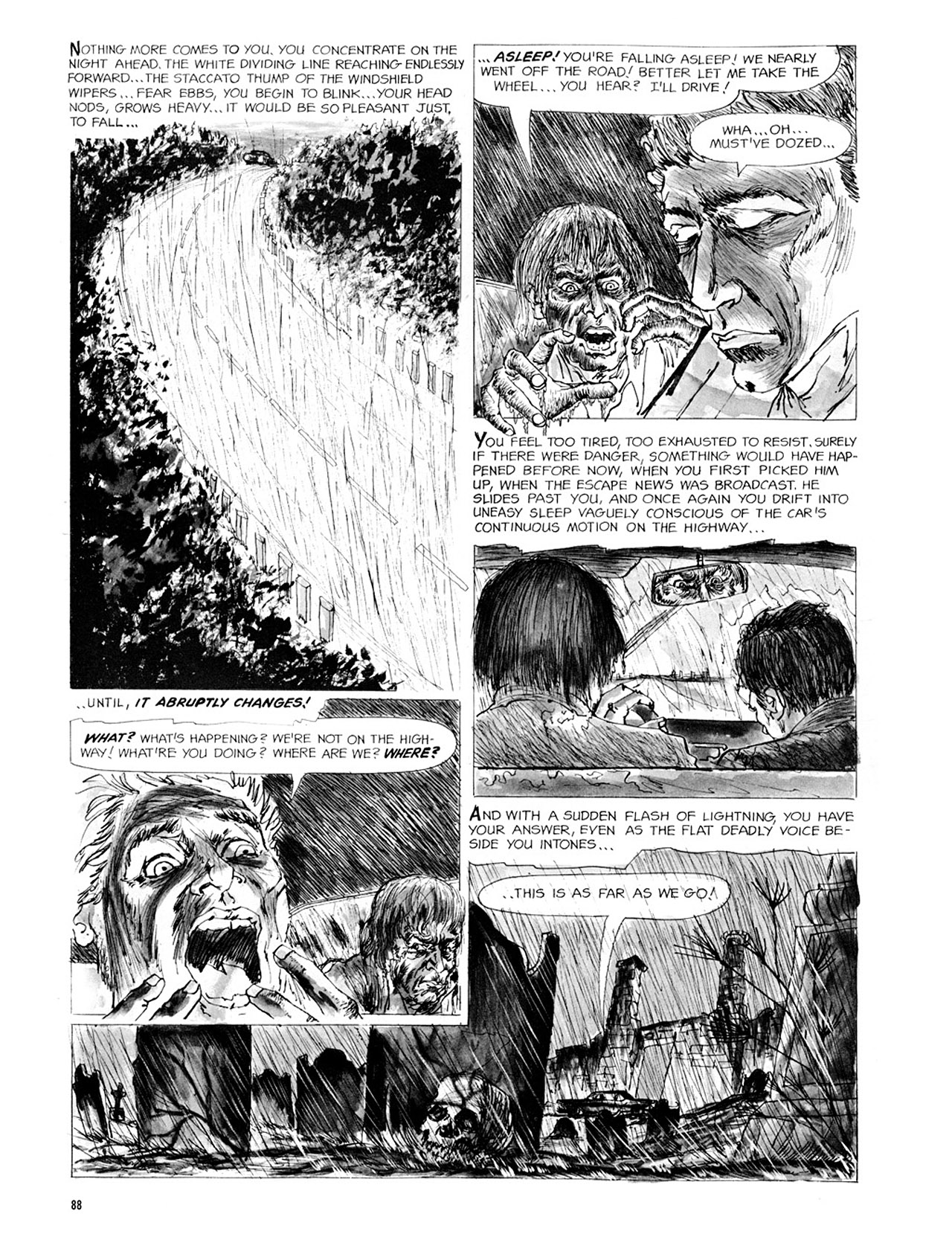 Read online Eerie Archives comic -  Issue # TPB 2 - 89