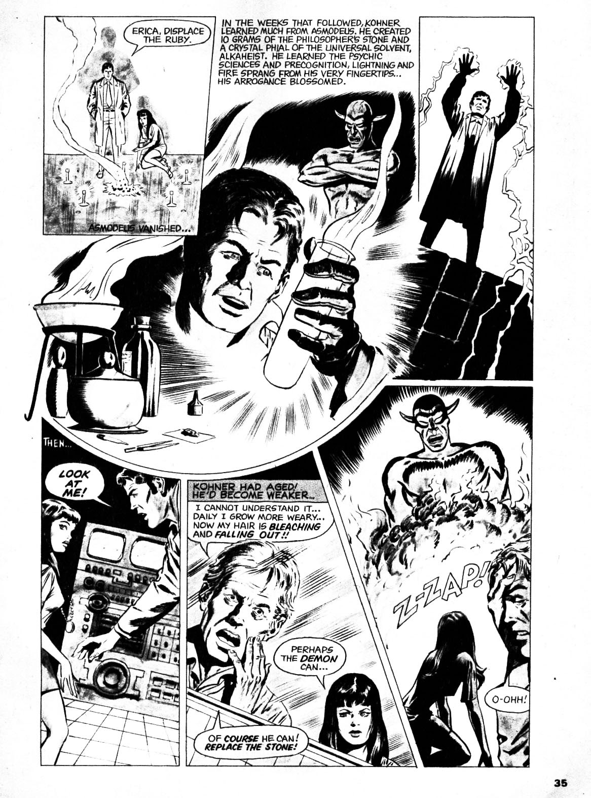 Nightmare (1970) issue 21 - Page 34