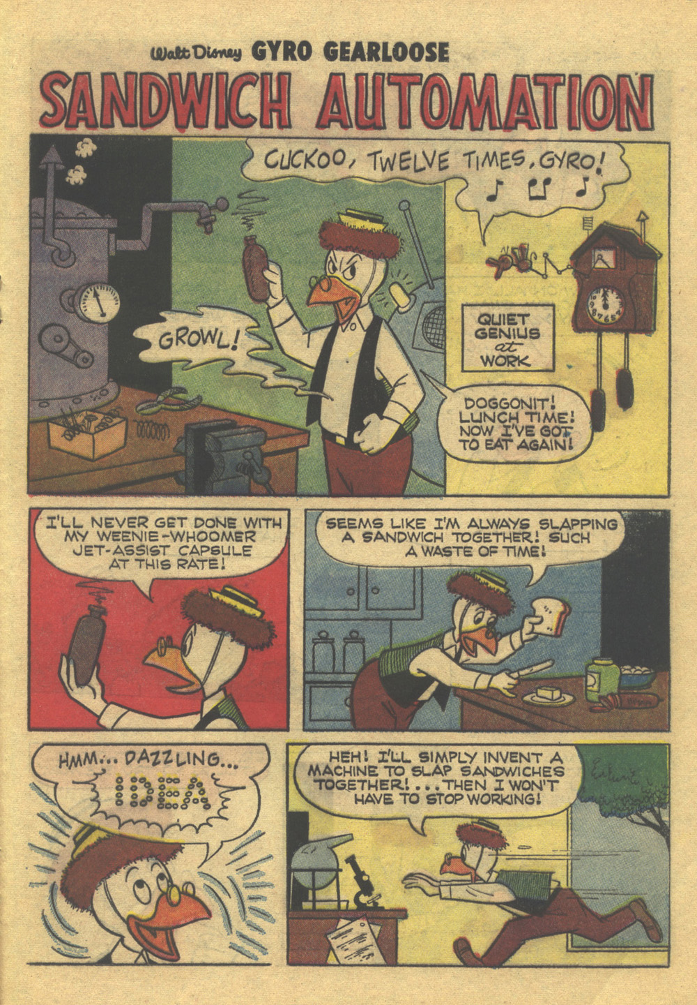 Read online Uncle Scrooge (1953) comic -  Issue #80 - 21