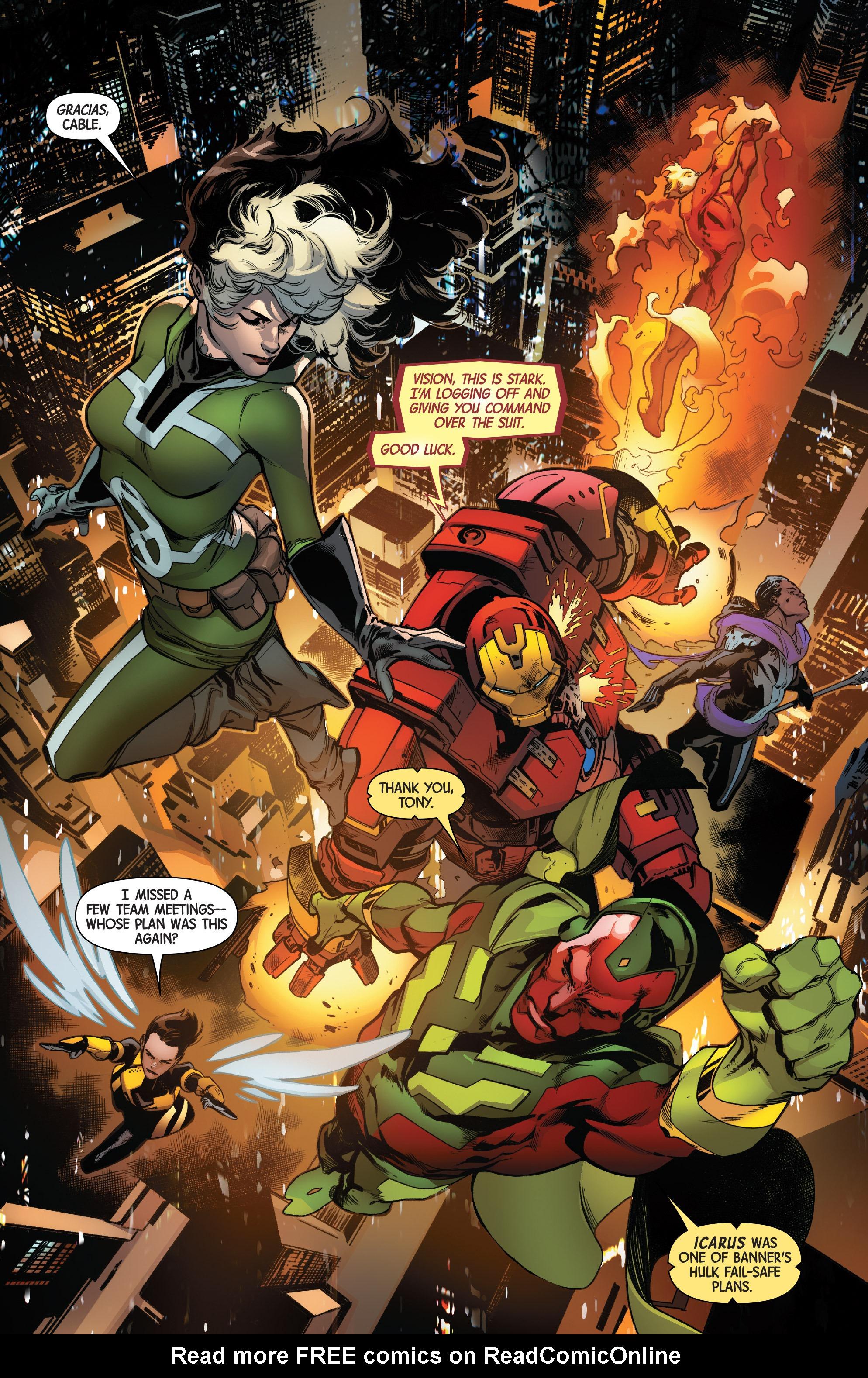 Read online Uncanny Avengers [II] comic -  Issue #12 - 6