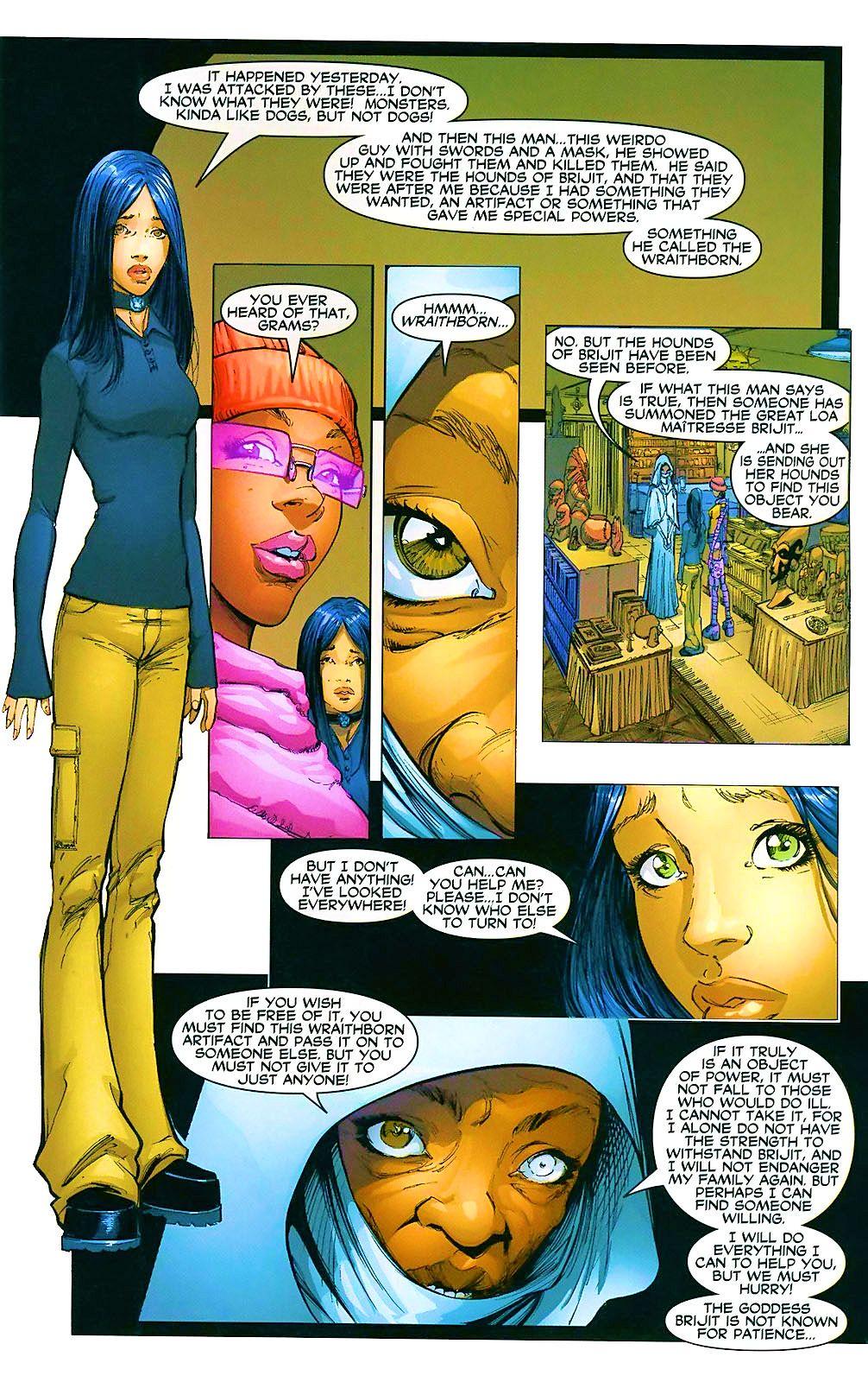 Read online Wraithborn comic -  Issue #4 - 18