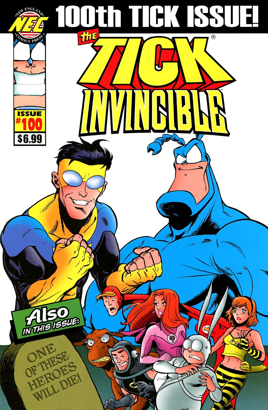 Read online The Tick comic -  Issue #100 - 1