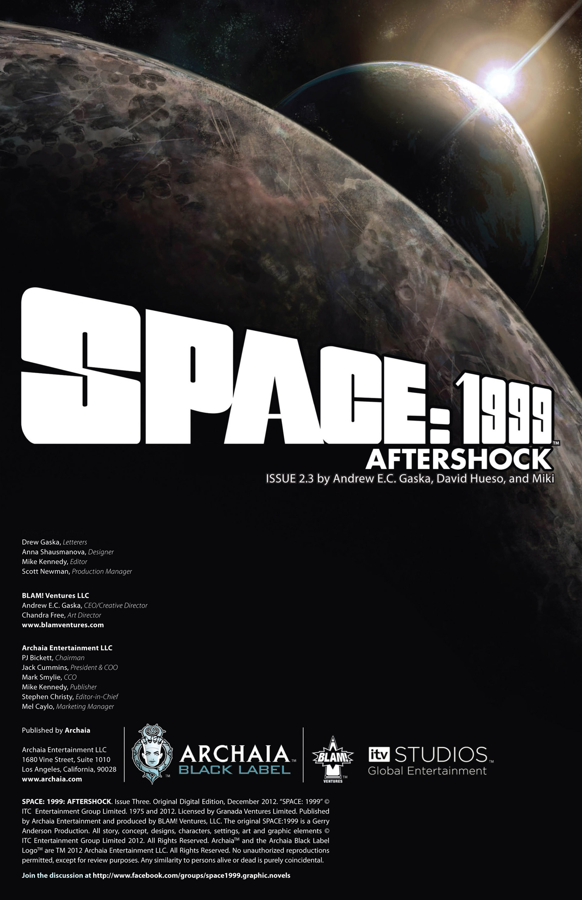 Read online Space: 1999: Aftershock comic -  Issue #3 - 2