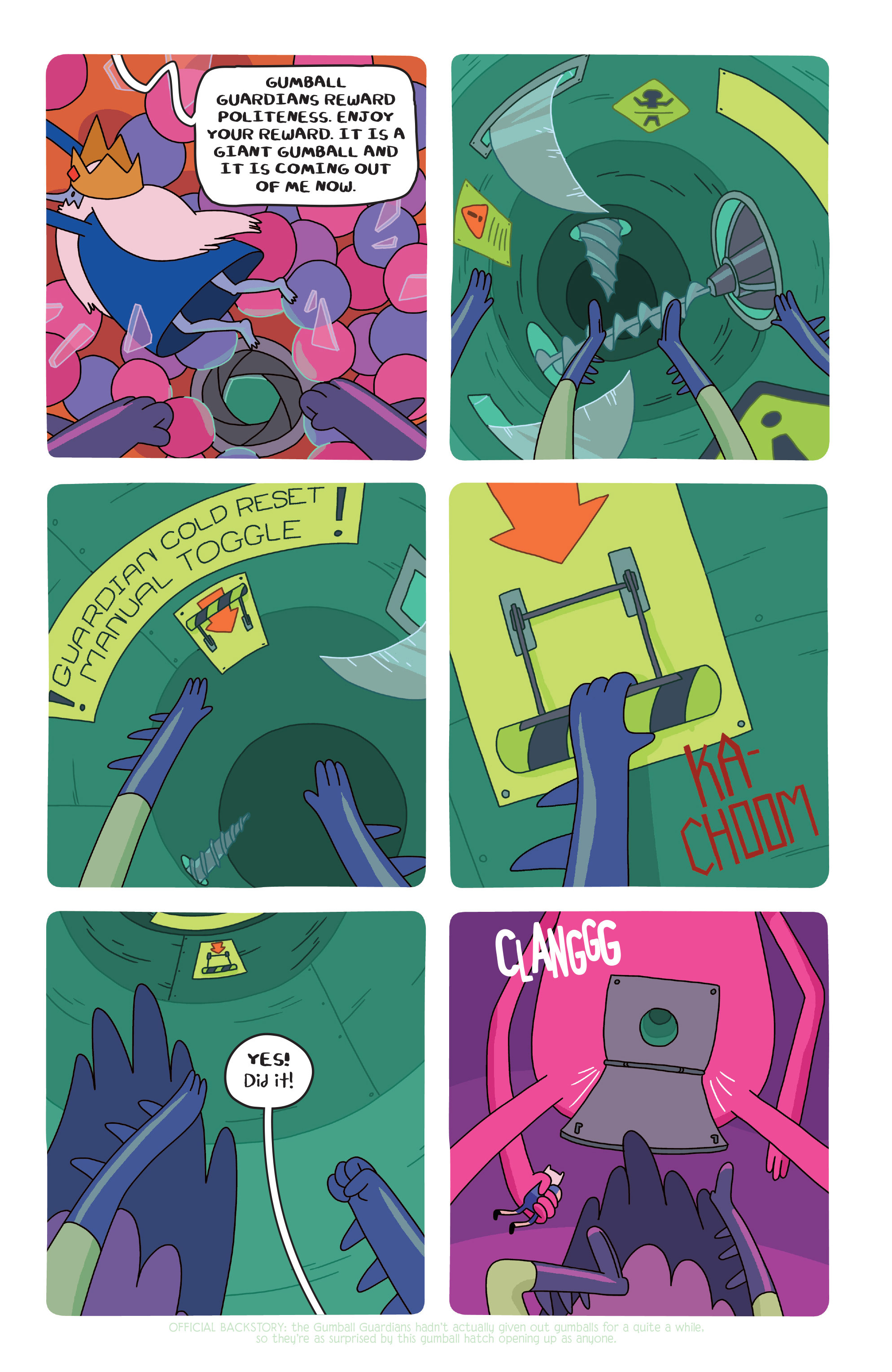 Read online Adventure Time comic -  Issue #20 - 18