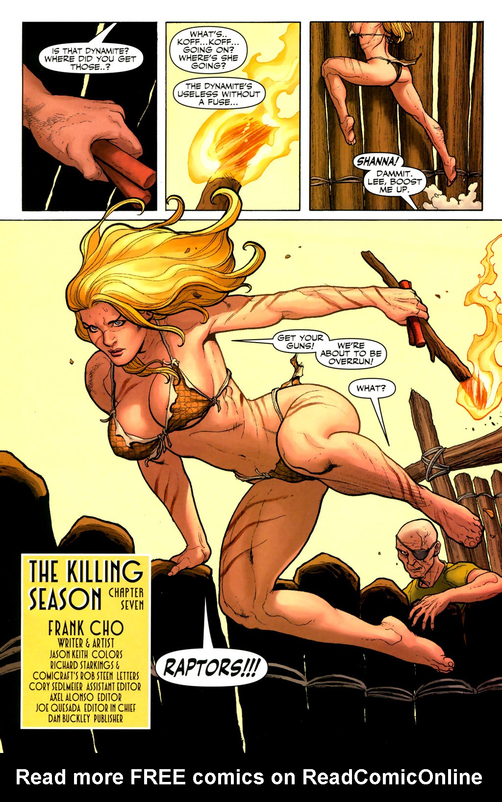 Read online Shanna, the She-Devil (2005) comic -  Issue #7 - 3