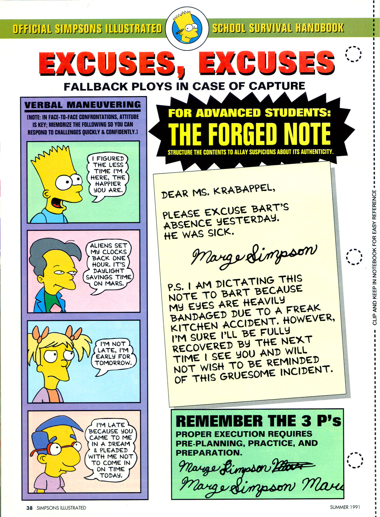 Read online Simpsons Illustrated (1991) comic -  Issue #2 - 36