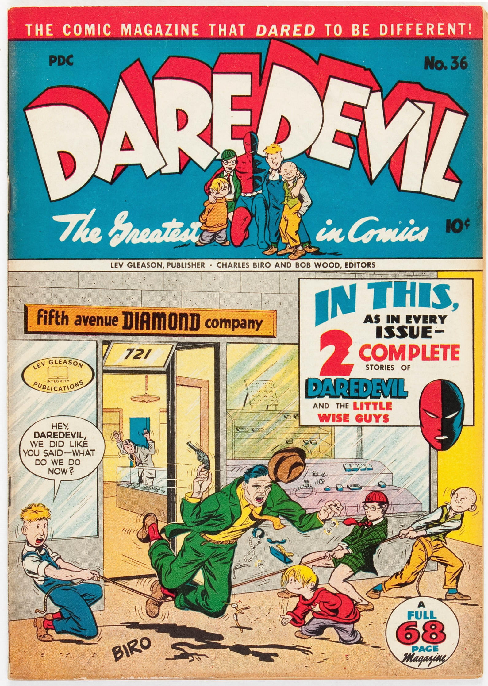 Daredevil (1941) 36 Page 1