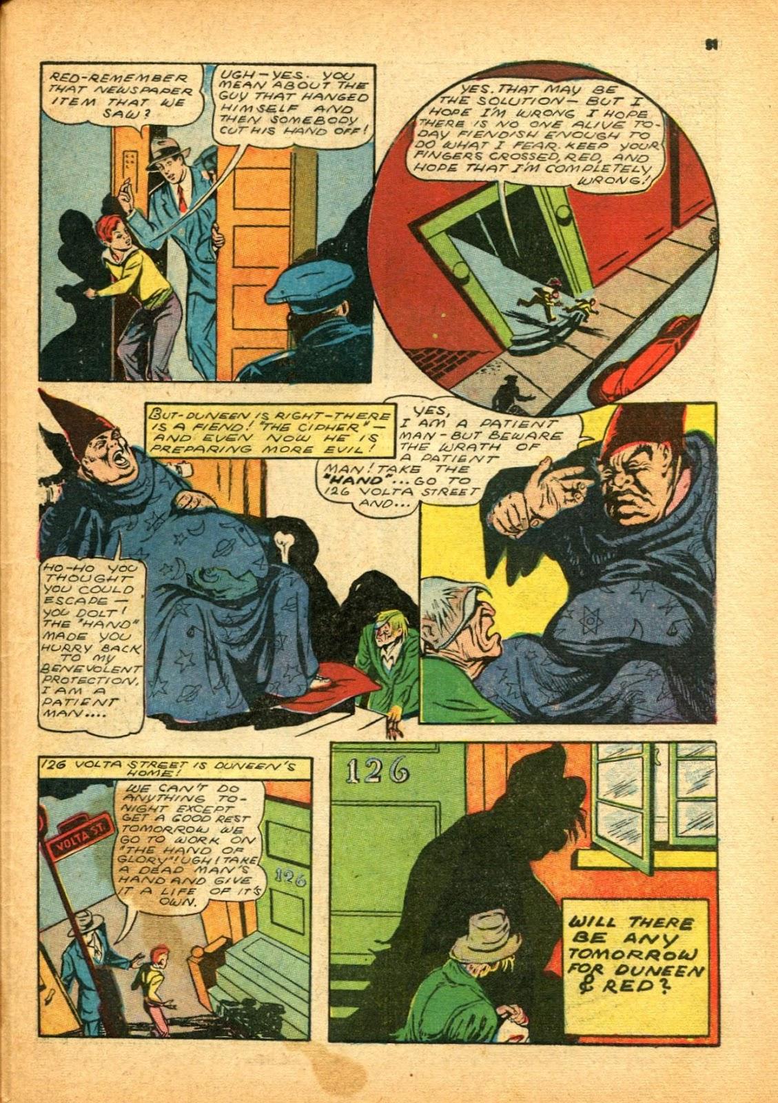Read online Super-Magician Comics comic -  Issue #12 - 51