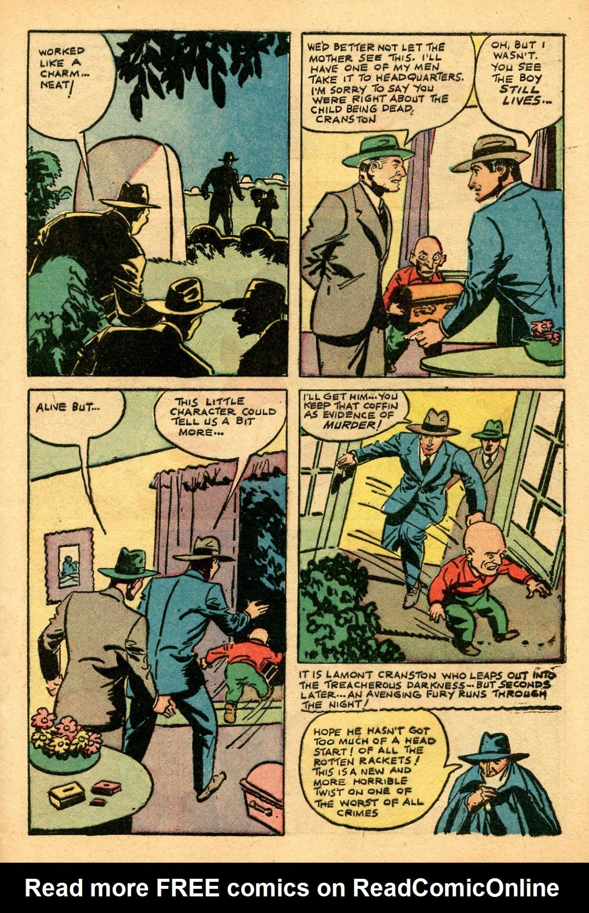 Read online Shadow Comics comic -  Issue #69 - 9