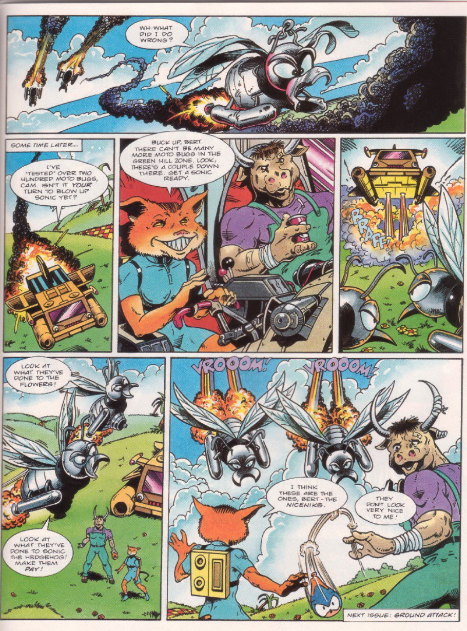 Read online Sonic the Comic comic -  Issue #33 - 22