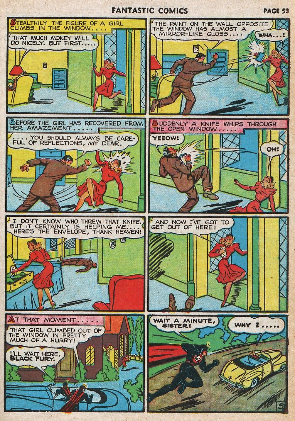Read online Fantastic Comics comic -  Issue #20 - 53