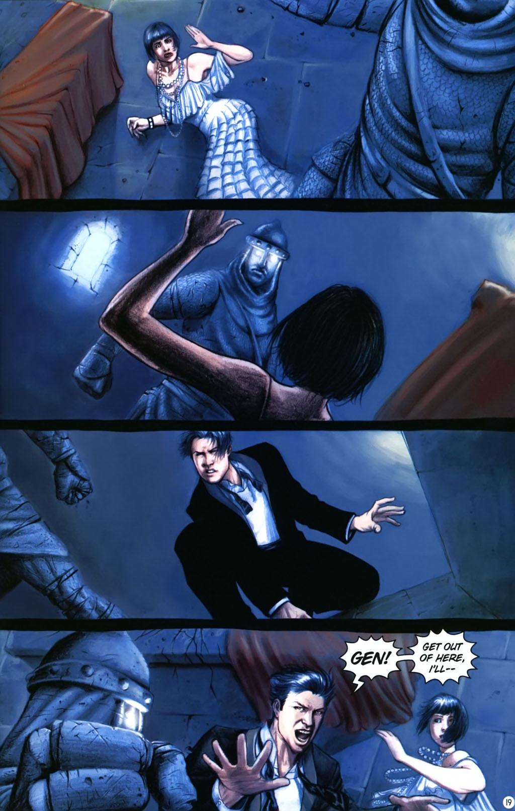 Read online Rex Mundi comic -  Issue #17 - 23