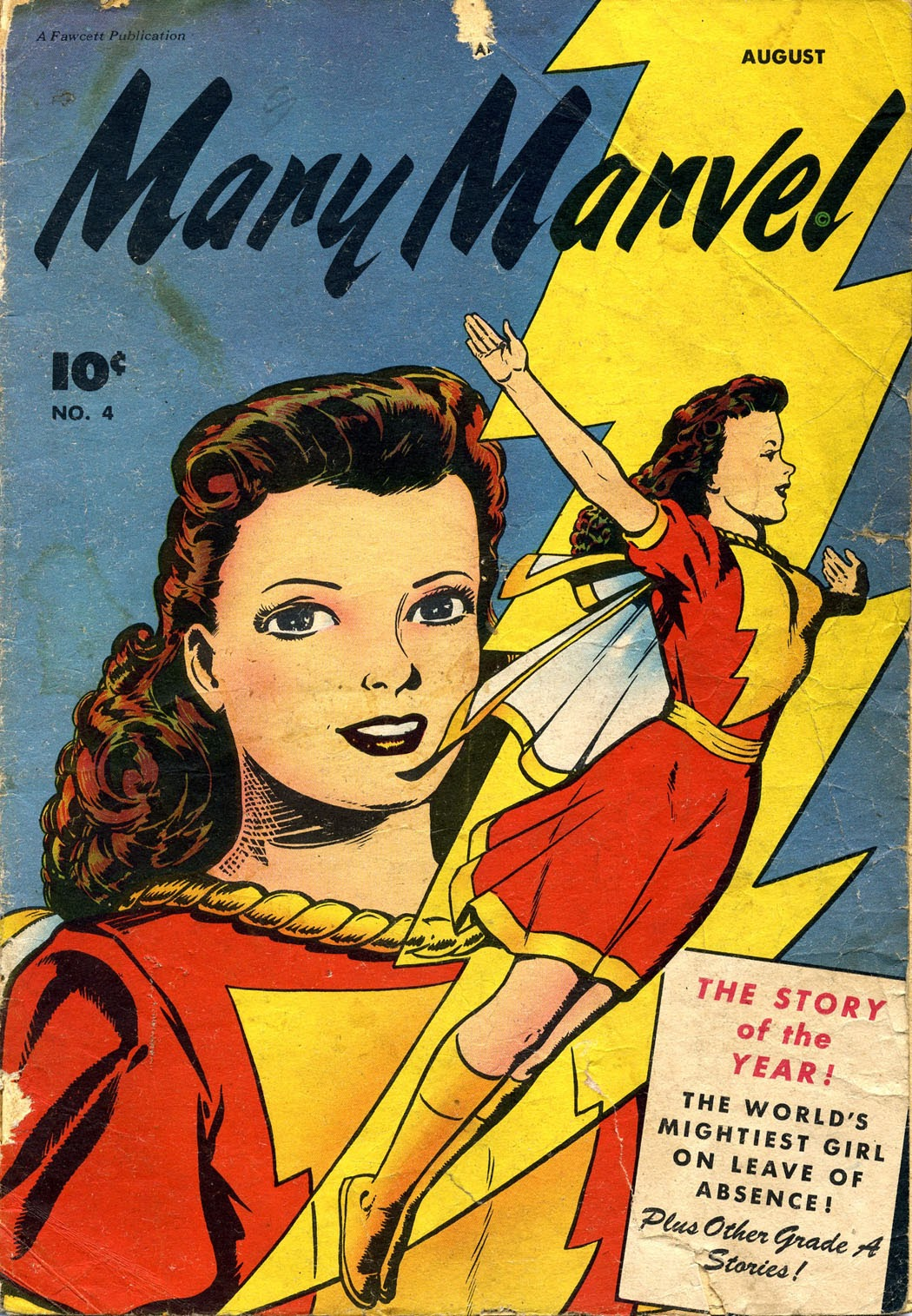 Mary Marvel 4 Page 1