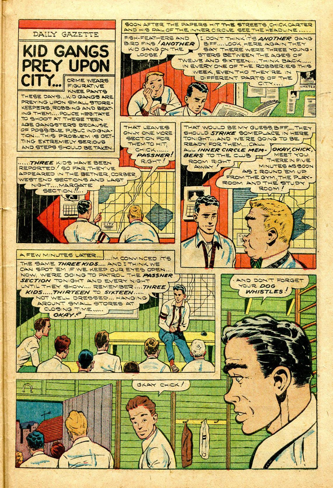 Read online Shadow Comics comic -  Issue #96 - 39