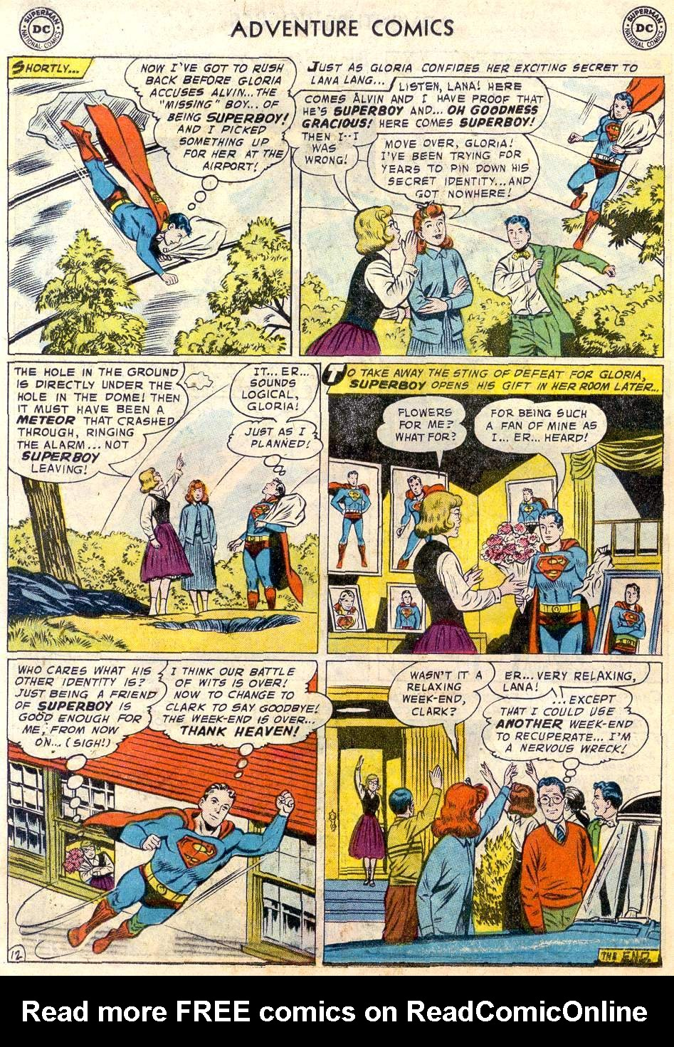 Read online Adventure Comics (1938) comic -  Issue #246 - 14