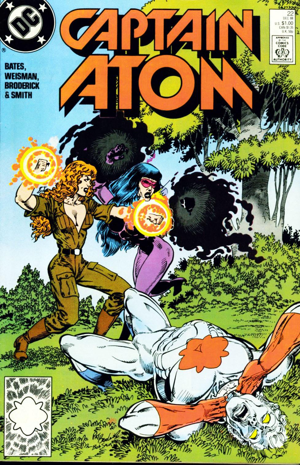 Captain Atom (1987) 22 Page 1