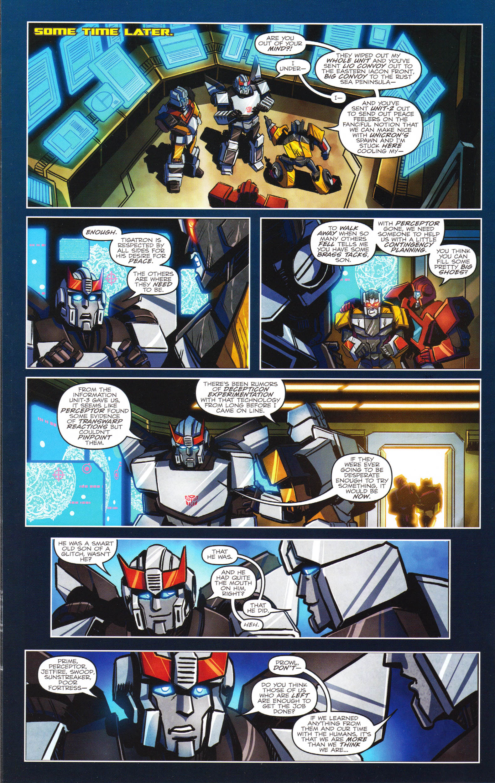 Read online Transformers: Dawn of the Predacus comic -  Issue # Full - 7