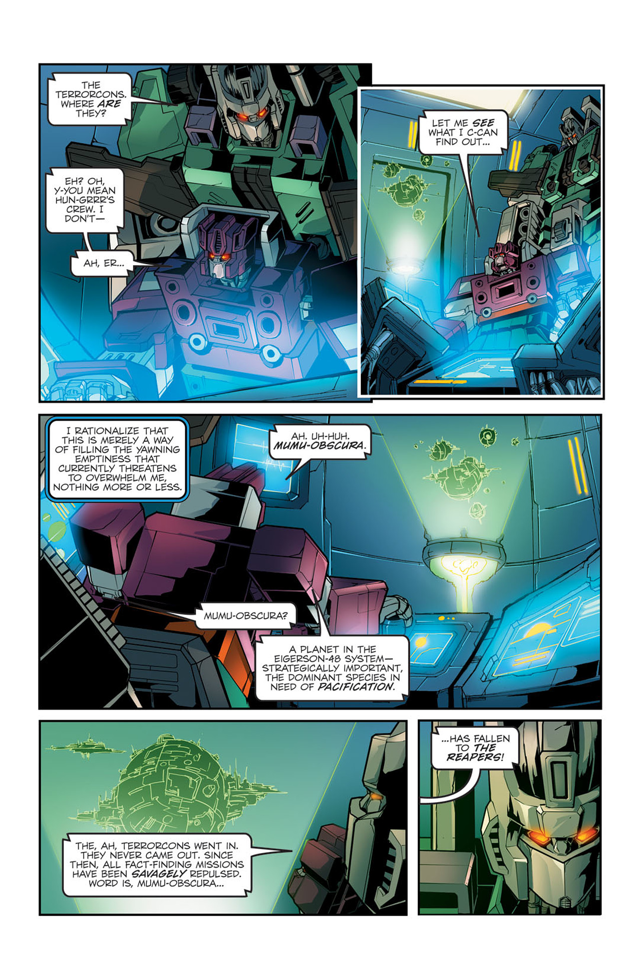 Read online Transformers Spotlight: Sixshot comic -  Issue # Full - 8