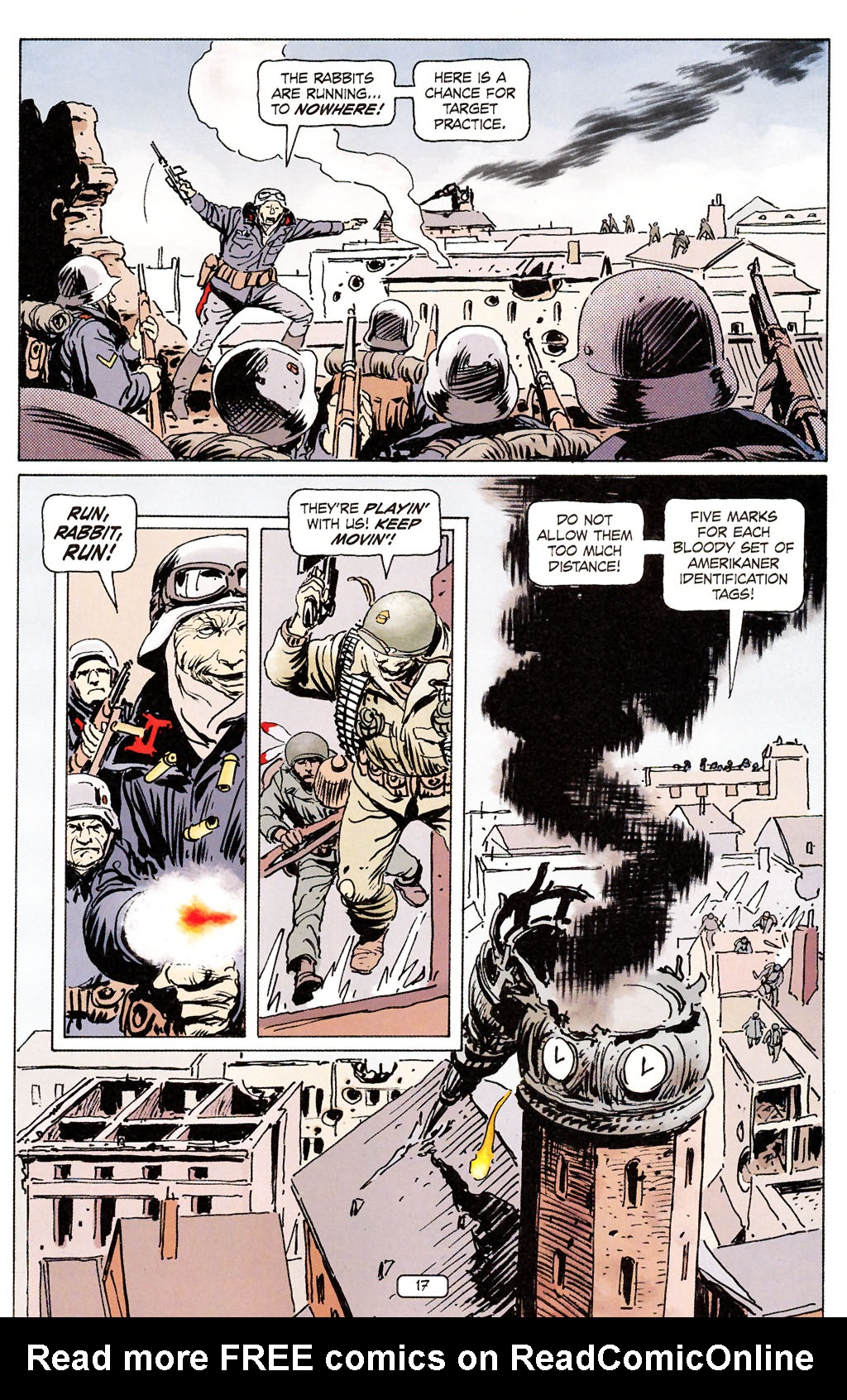 Read online Sgt. Rock: The Prophecy comic -  Issue #6 - 17