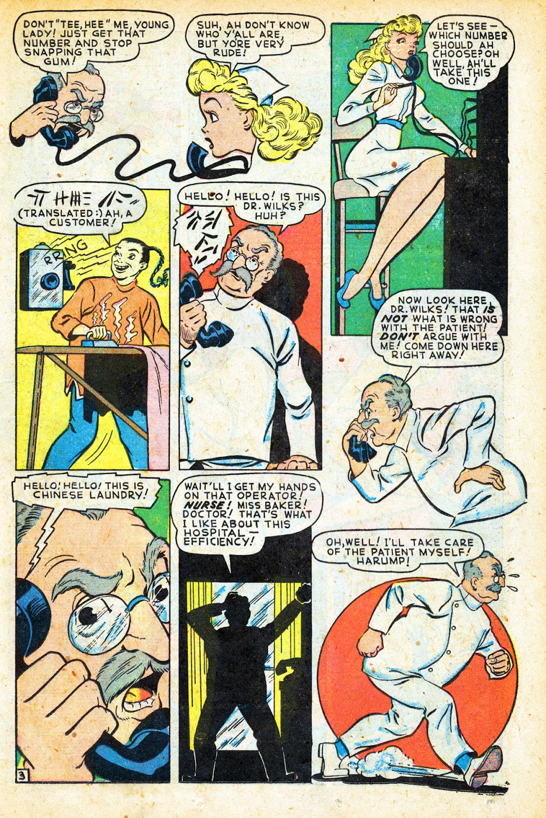 Read online Nellie The Nurse (1945) comic -  Issue #12 - 31