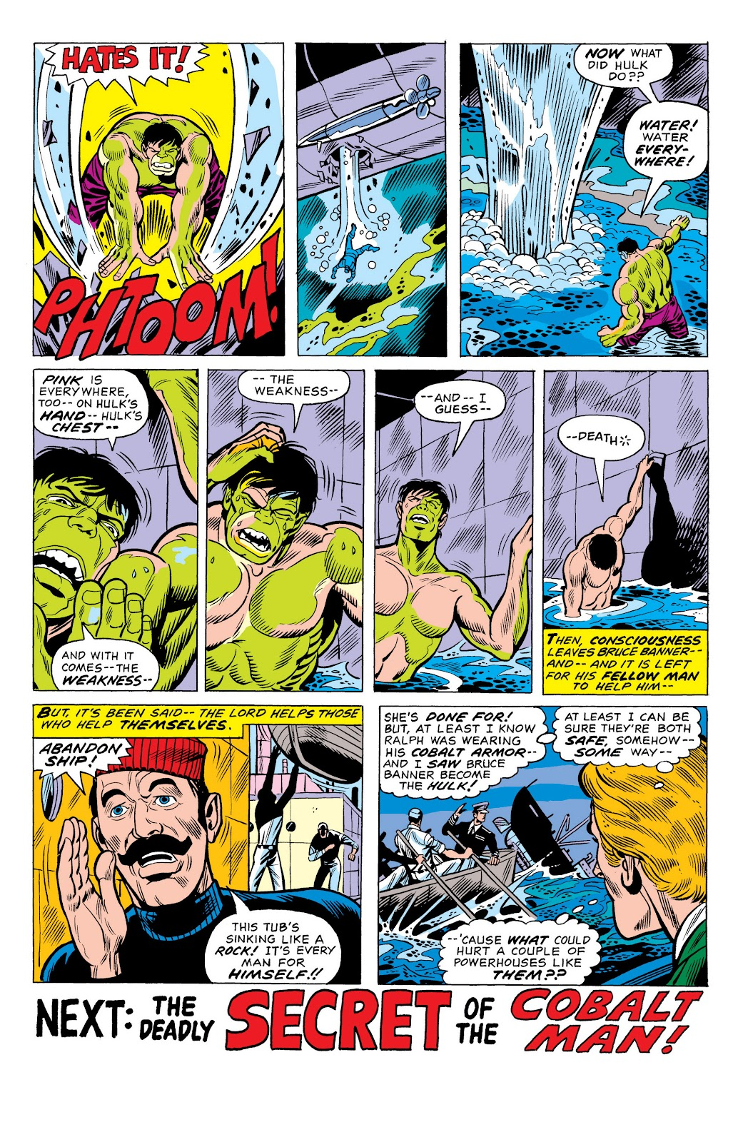 Read online Marvel Masterworks: The Incredible Hulk comic -  Issue # TPB 10 (Part 1) - 68
