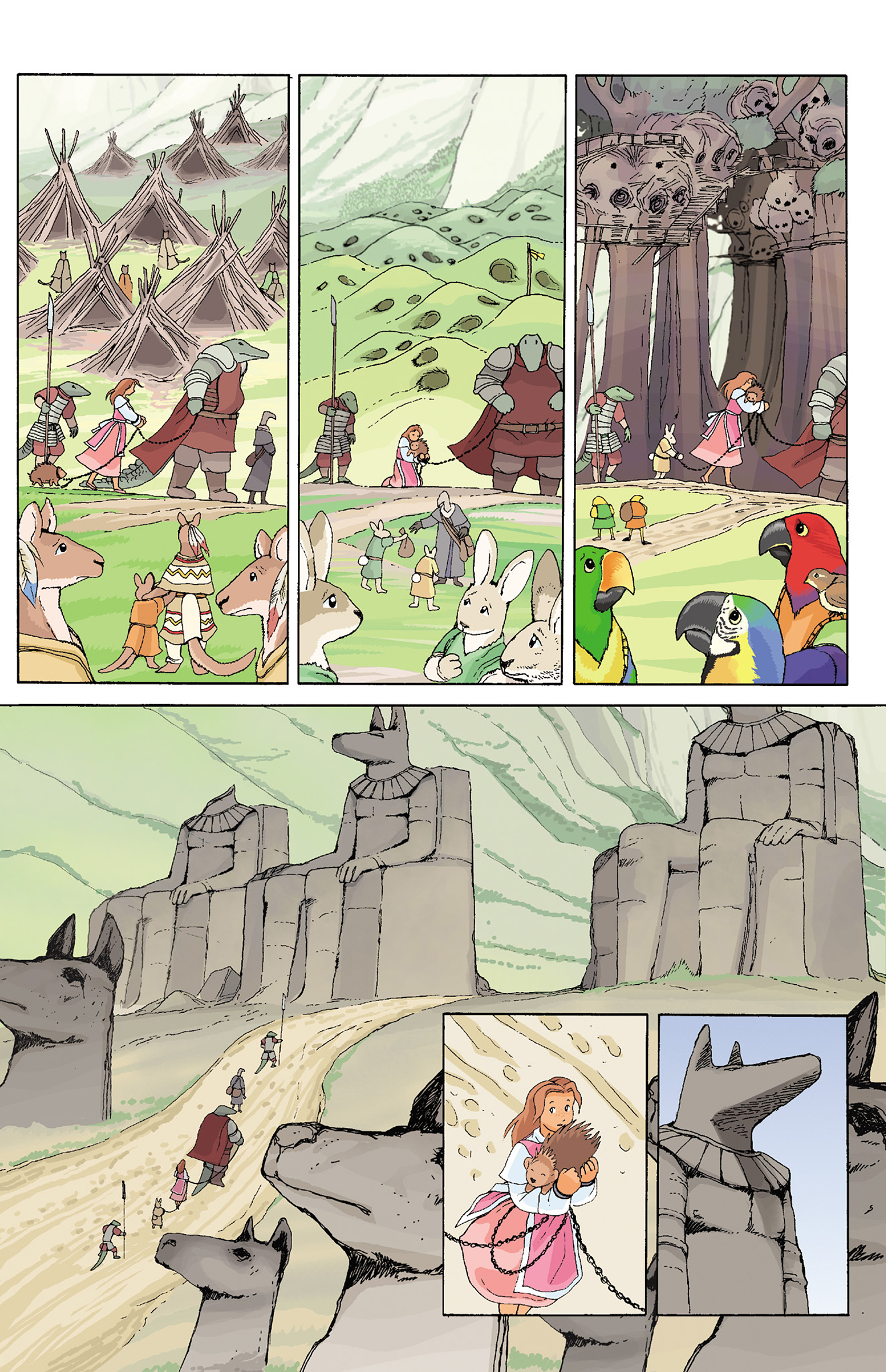 Read online Courageous Princess comic -  Issue # TPB 1 - 189
