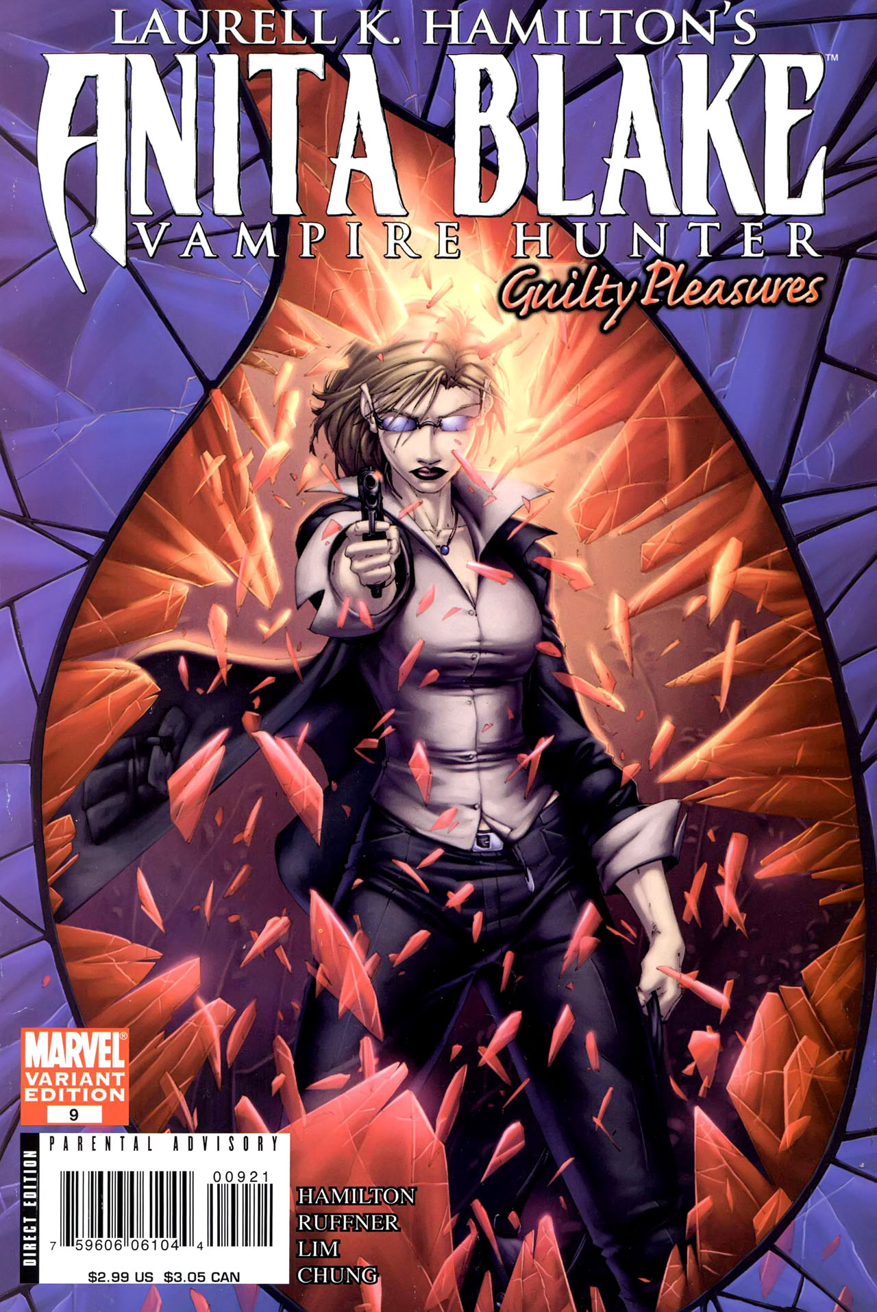 Read online Anita Blake, Vampire Hunter: Guilty Pleasures comic -  Issue #9 - 1