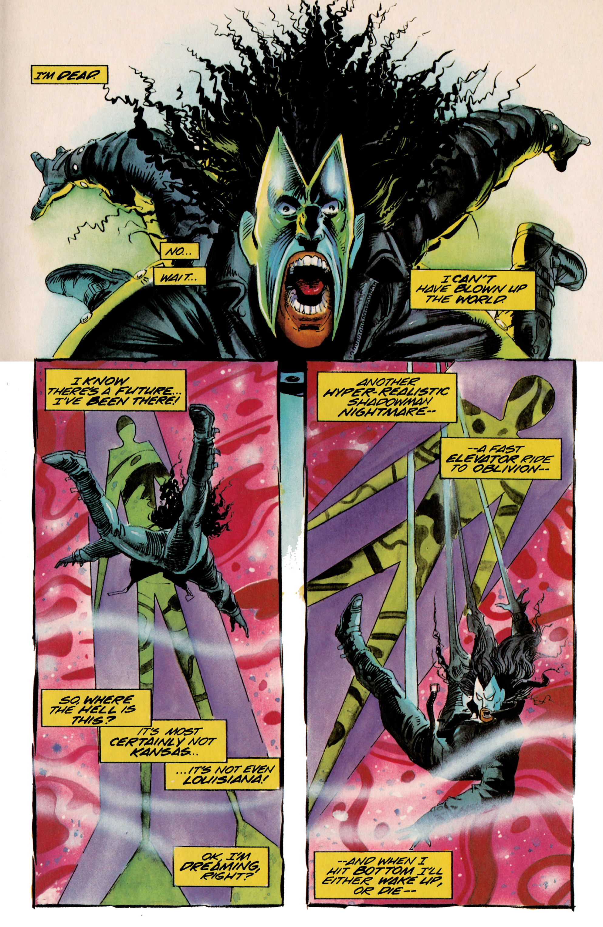 Read online Shadowman (1992) comic -  Issue #23 - 10