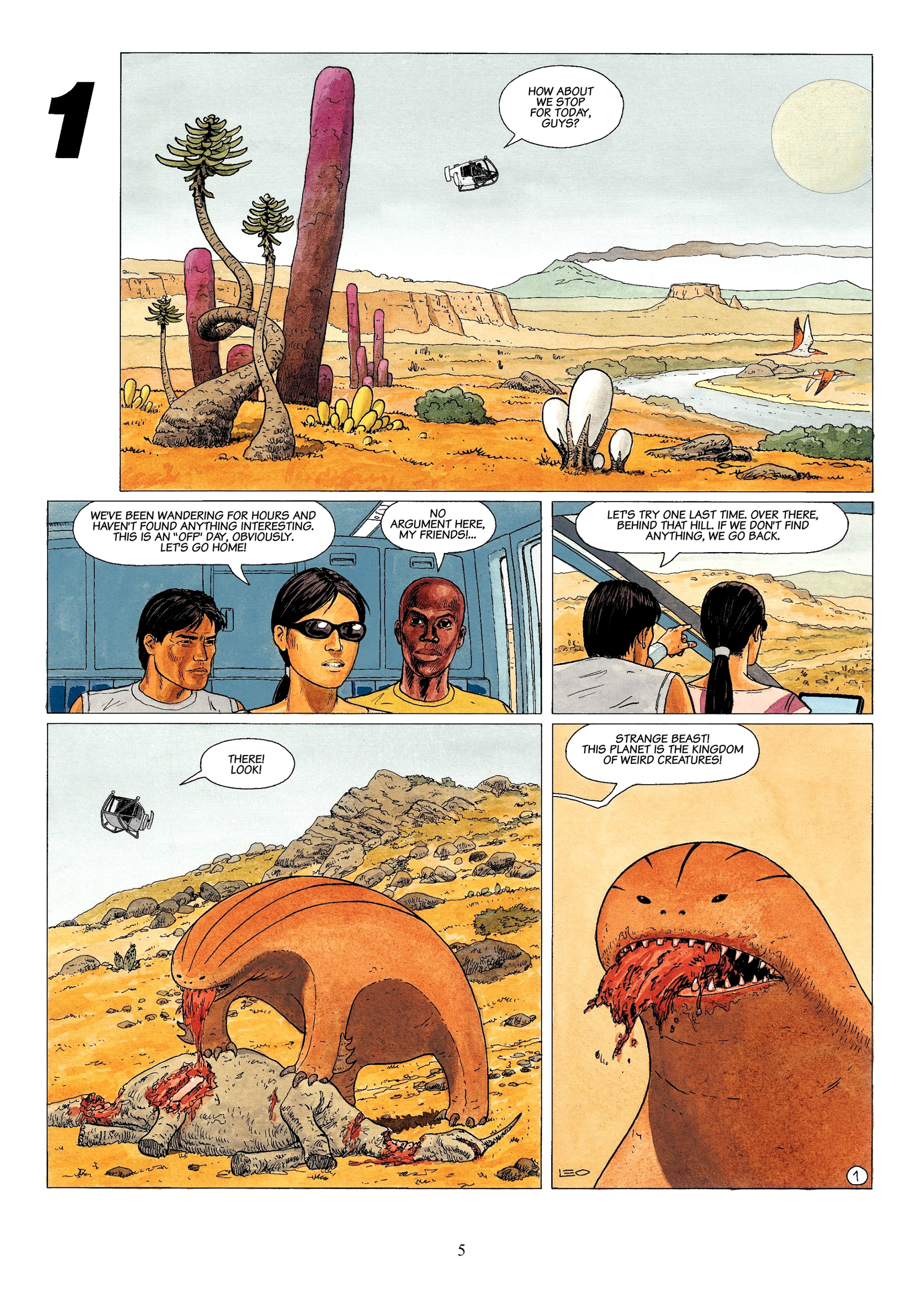 Read online Antares comic -  Issue #1 - 3