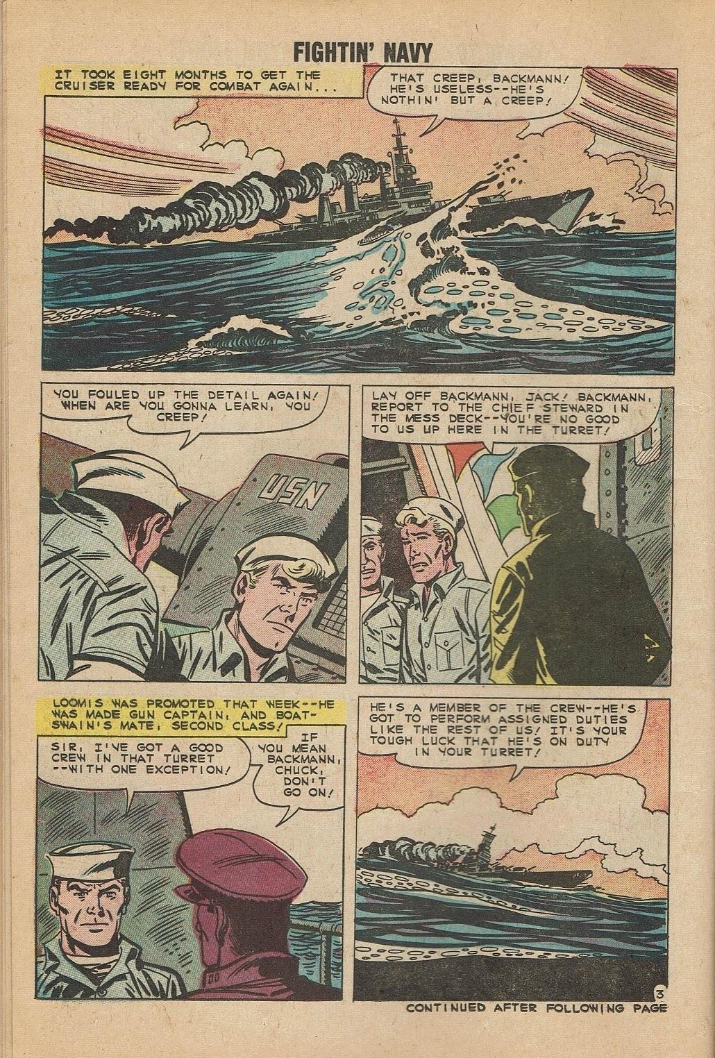 Read online Fightin' Navy comic -  Issue #95 - 14