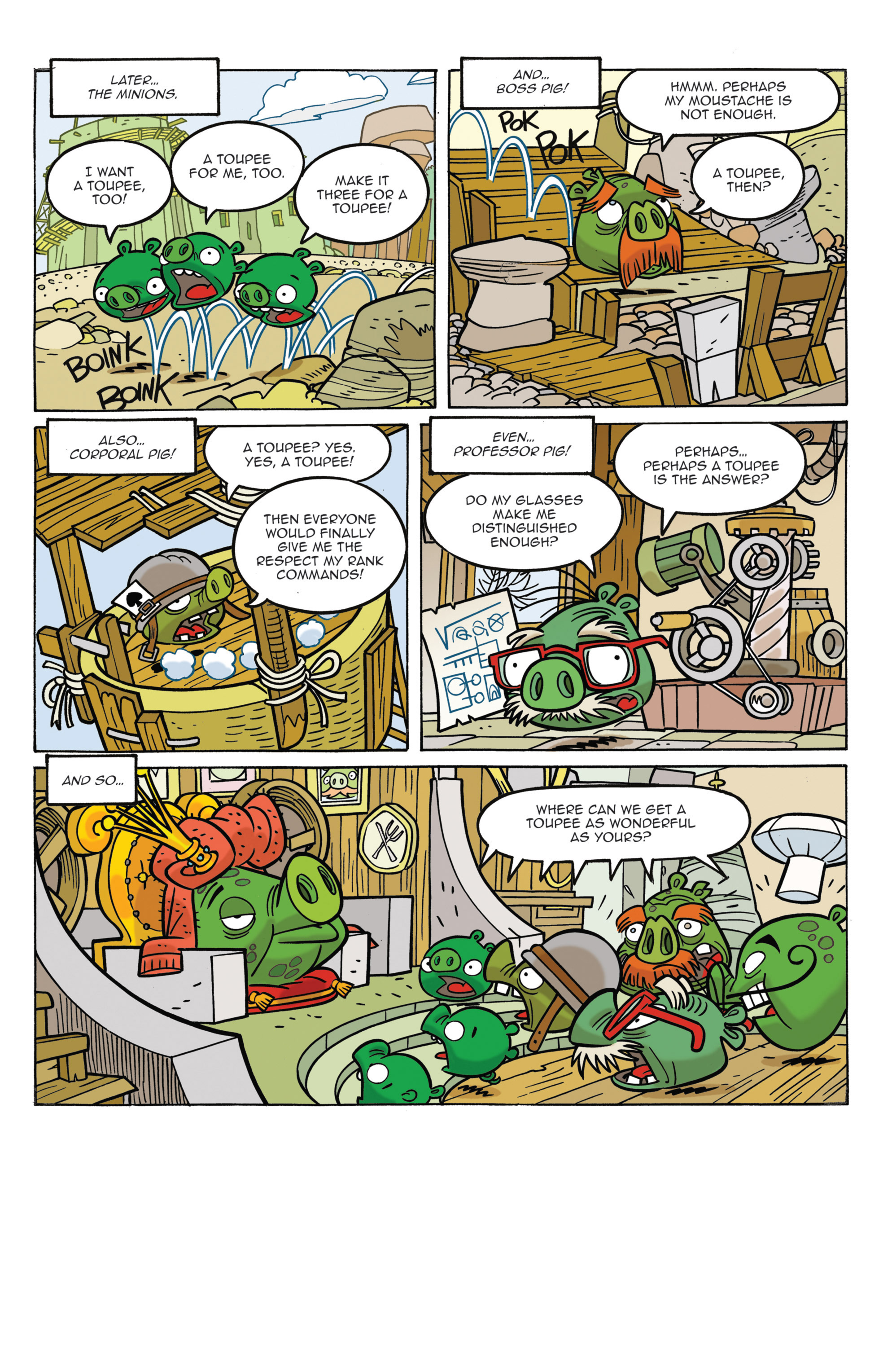 Read online Angry Birds Comics (2014) comic -  Issue #3 - 8