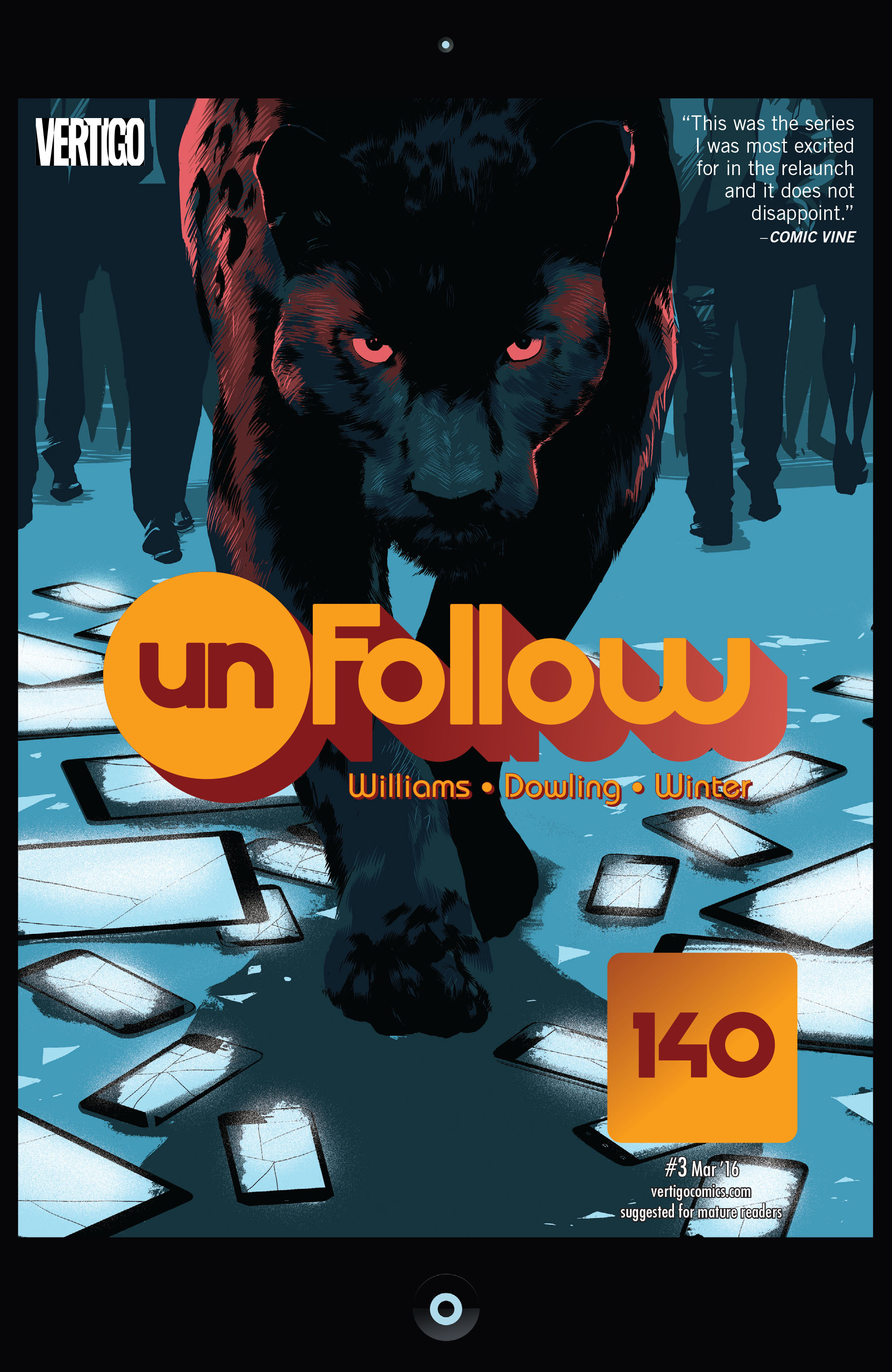 Unfollow issue 3 - Page 1