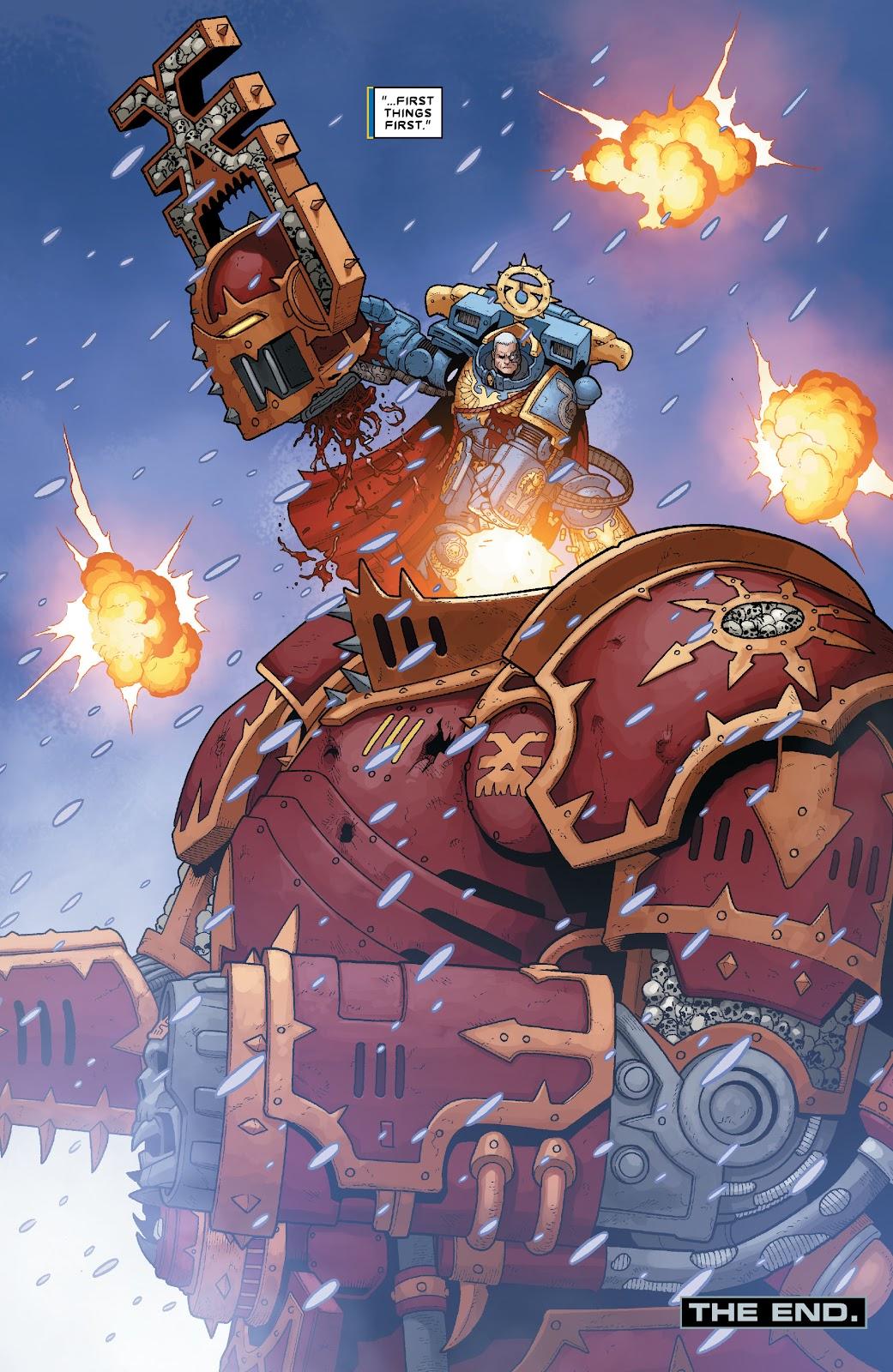 Warhammer 40,000: Marneus Calgar issue 5 - Page 22