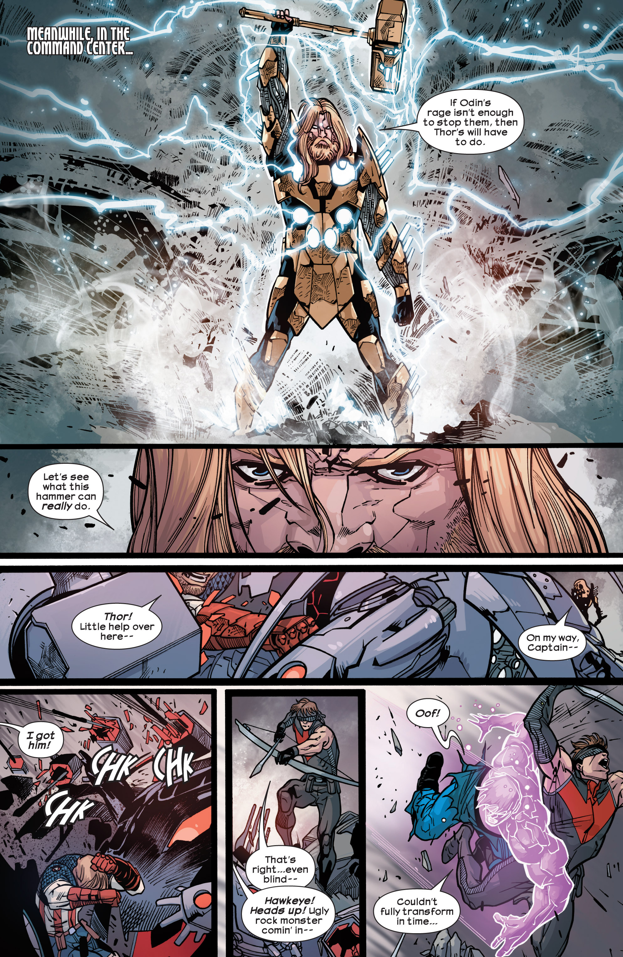Read online Ultimate Comics Ultimates comic -  Issue #30 - 12