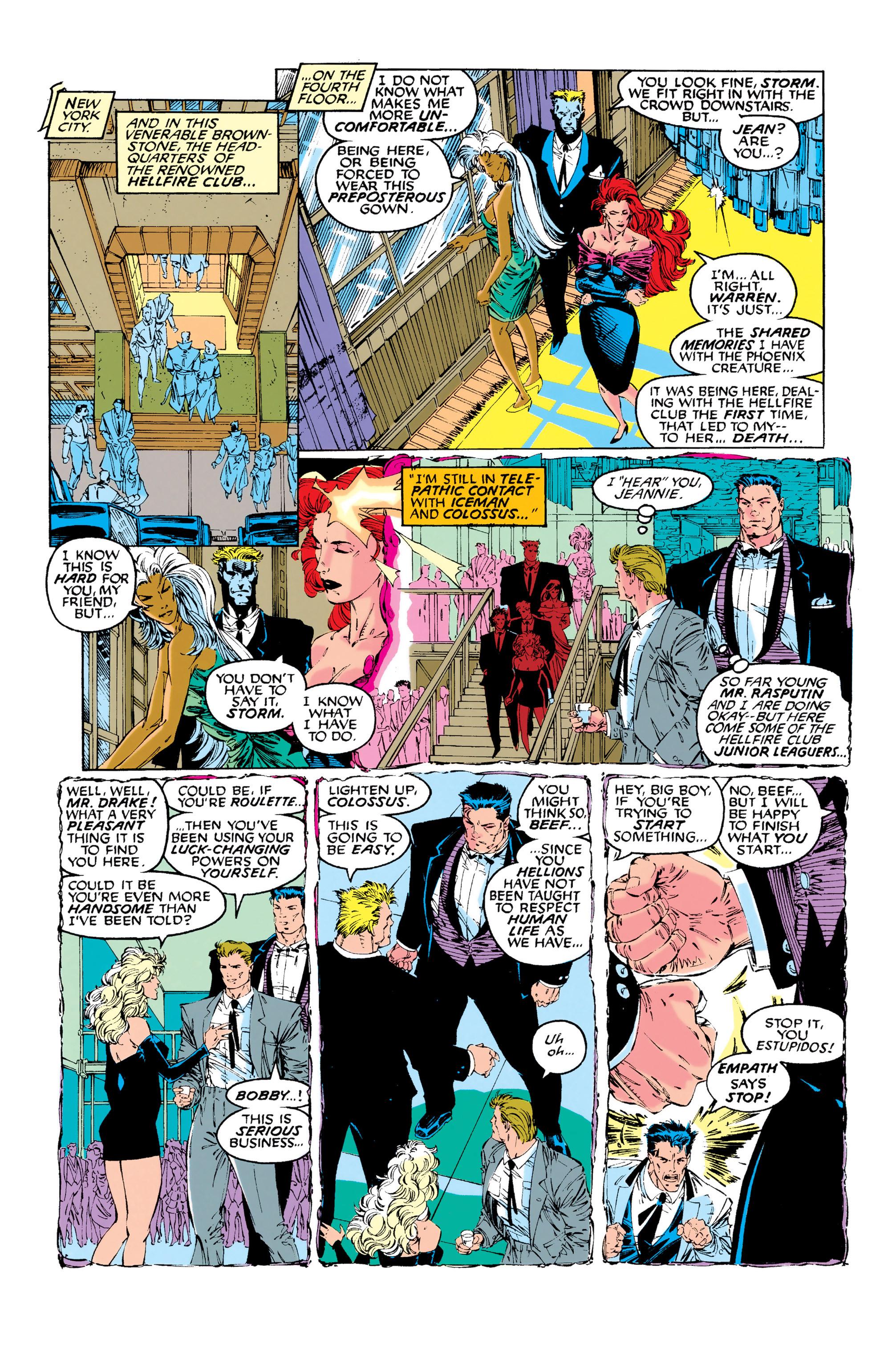 Read online Uncanny X-Men (1963) comic -  Issue #281 - 5