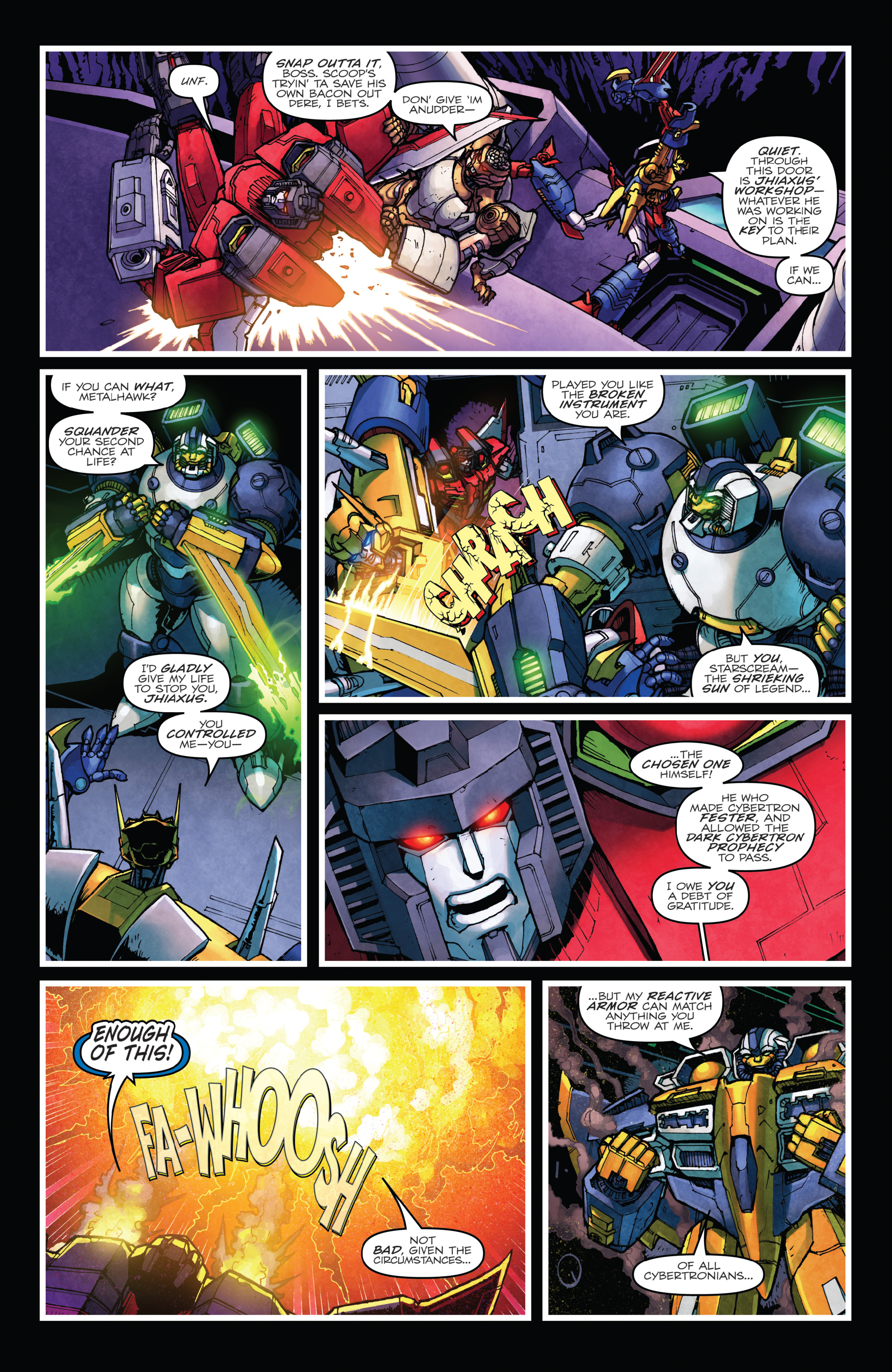 Read online The Transformers: Dark Cybertron Finale comic -  Issue # Full - 116