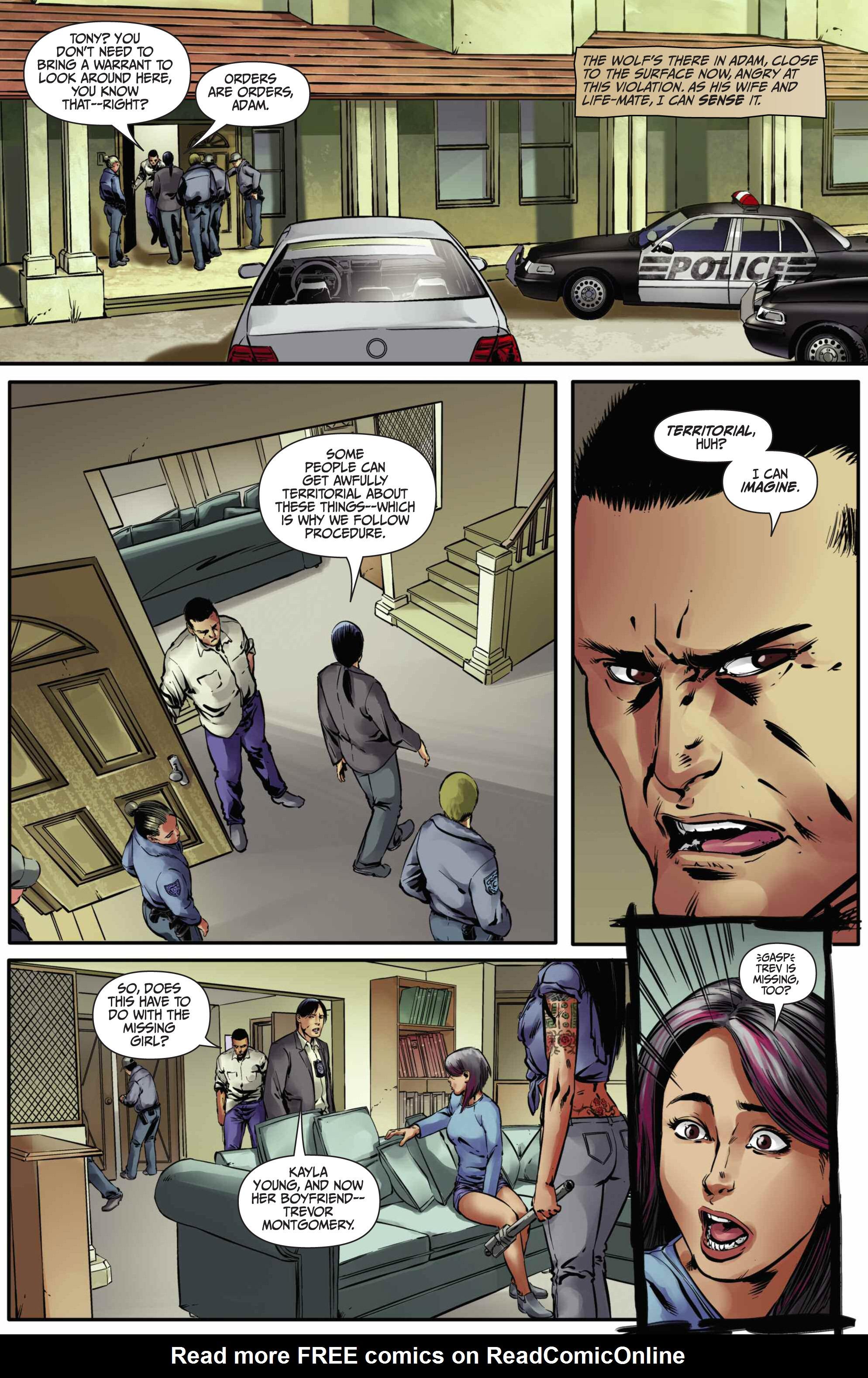 Read online Mercy Thompson comic -  Issue #5 - 3