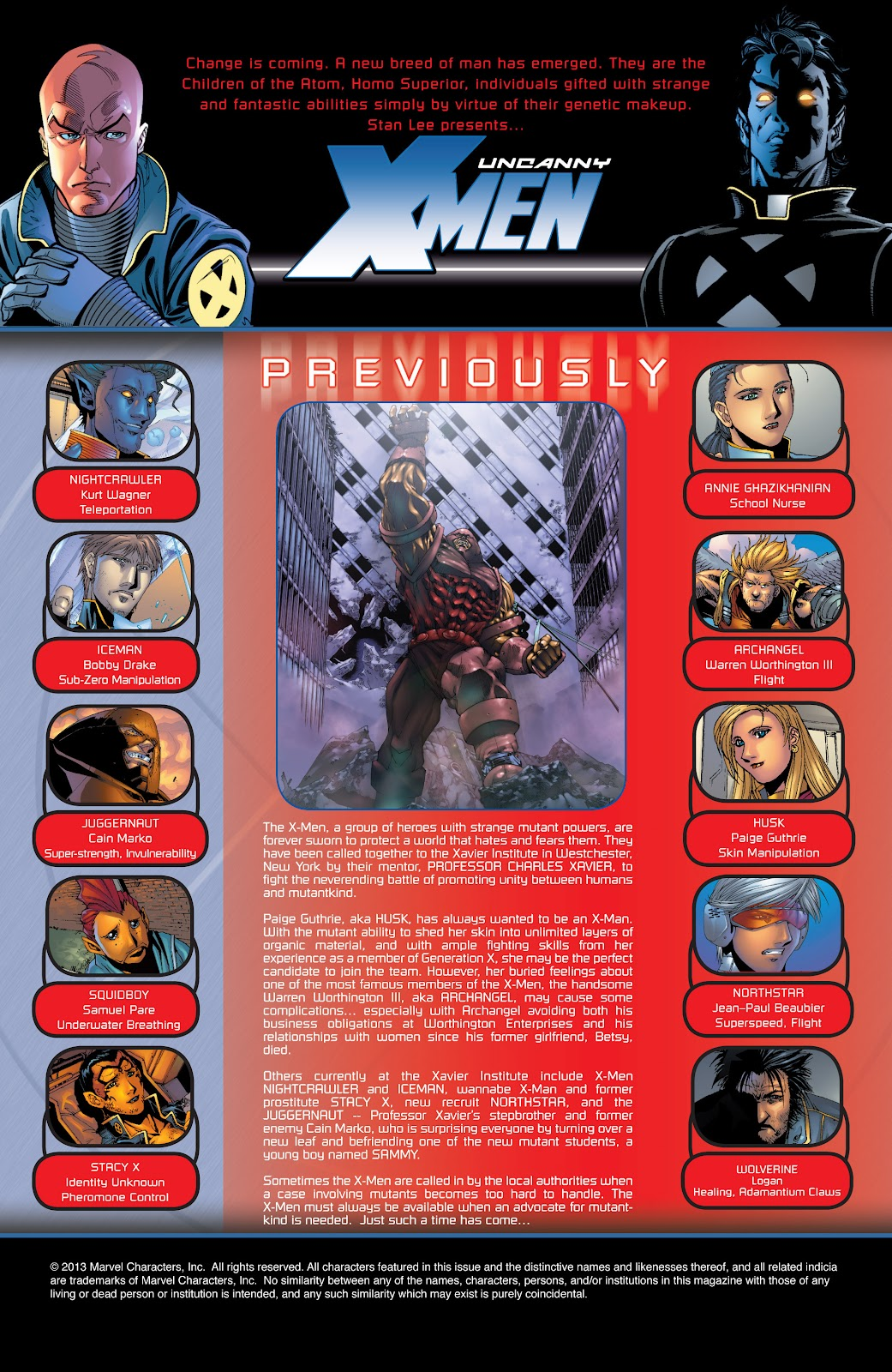 Uncanny X-Men (1963) issue 417 - Page 2