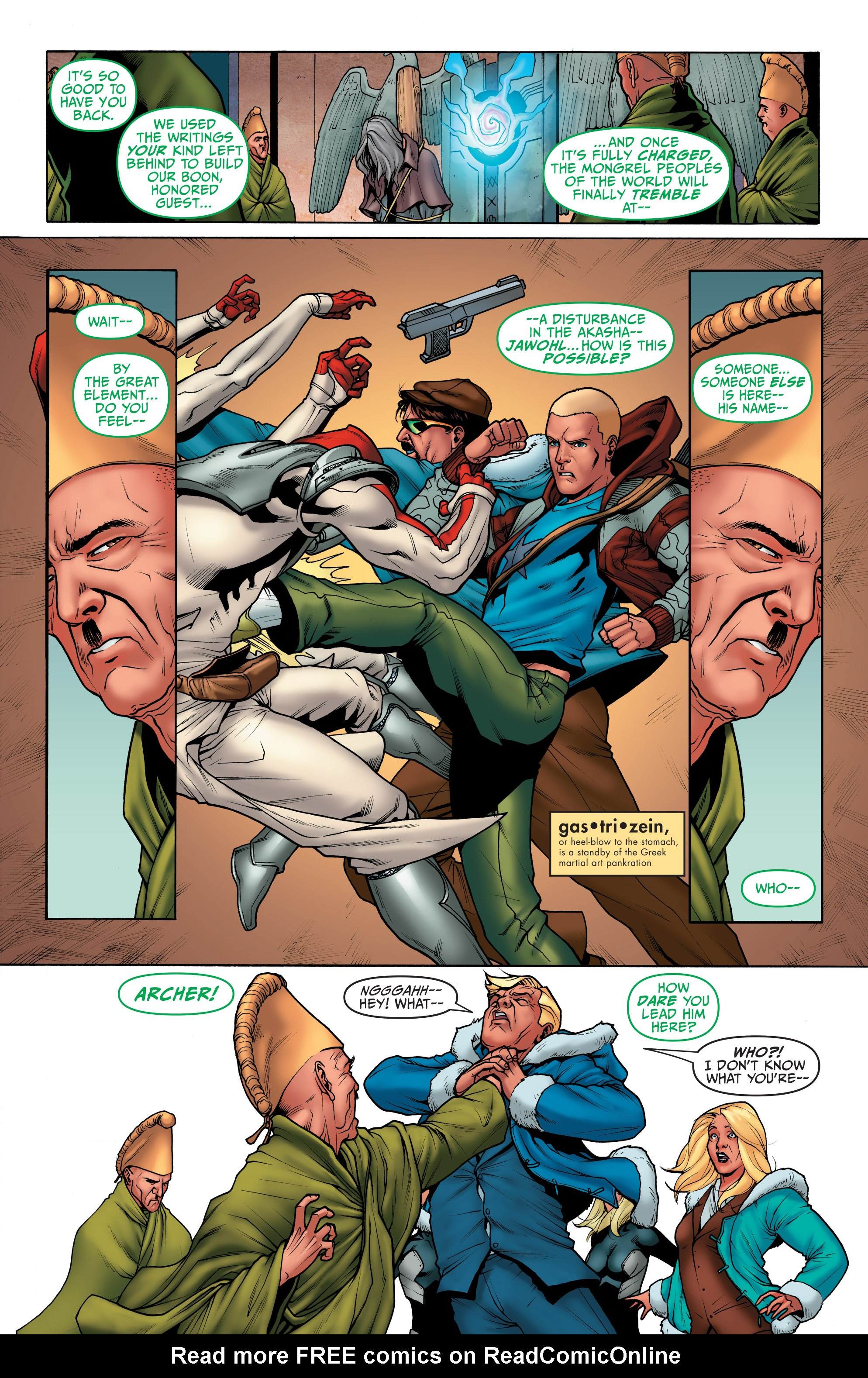 Read online Archer and Armstrong comic -  Issue #Archer and Armstrong _TPB 1 - 85