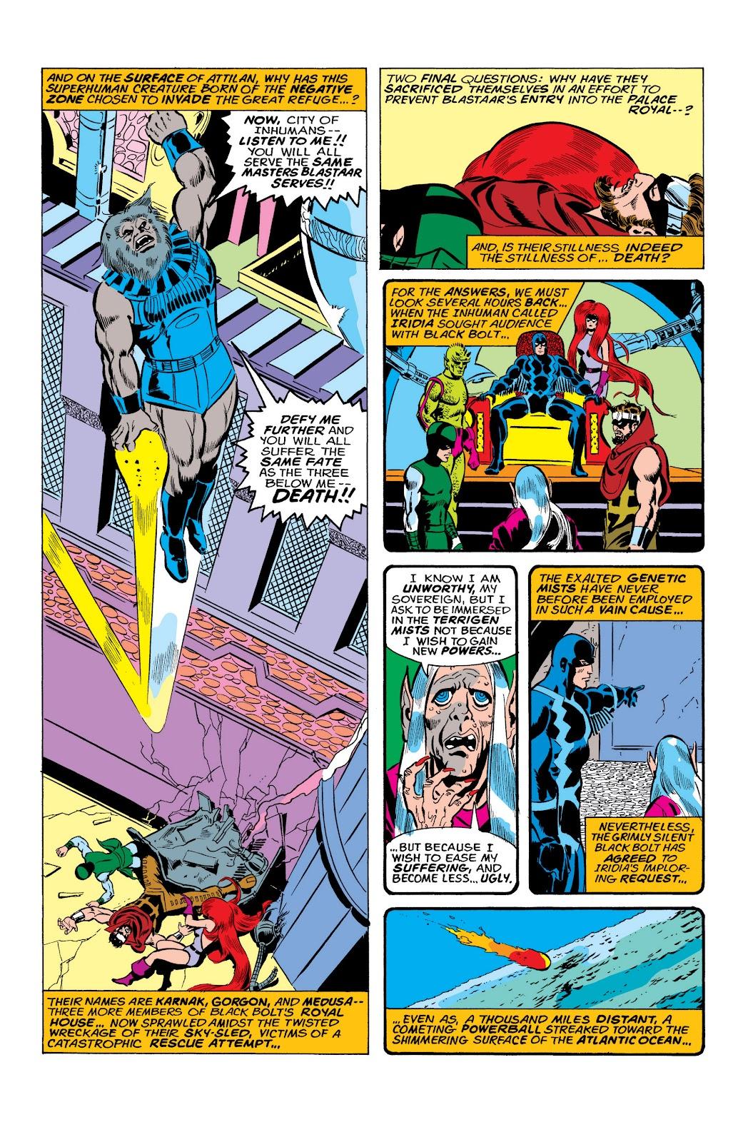 Read online Marvel Masterworks: The Inhumans comic -  Issue # TPB 2 (Part 1) - 28