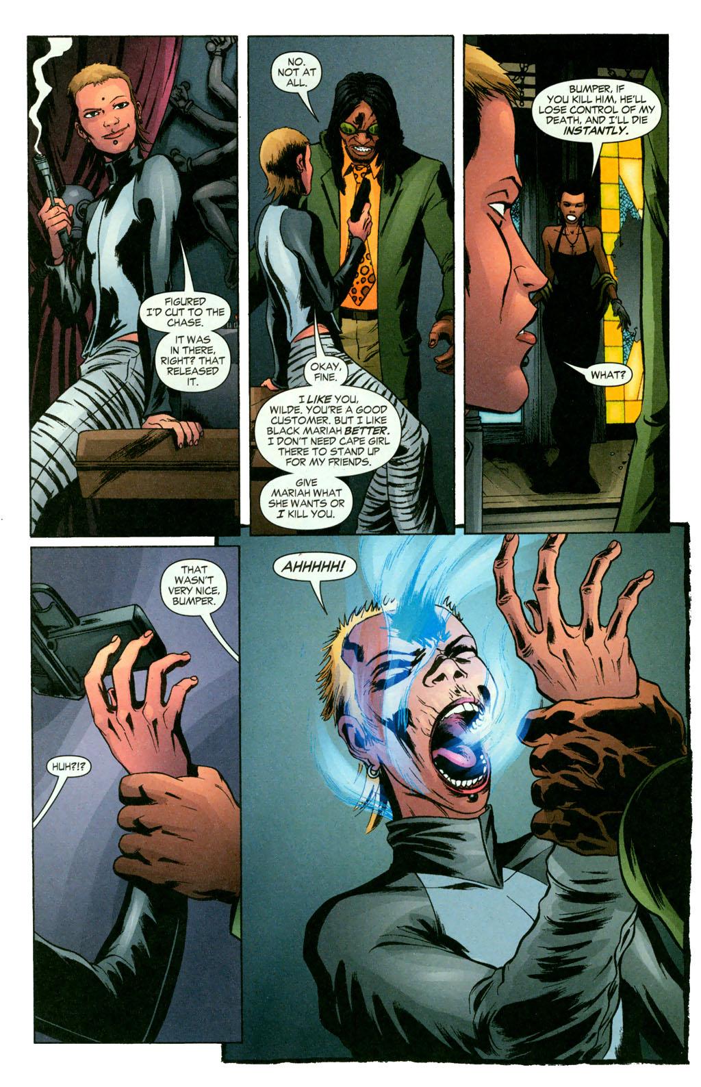 Read online Fallen Angel (2003) comic -  Issue #11 - 8