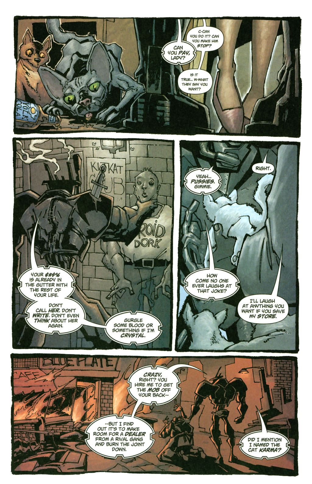 Read online Enginehead comic -  Issue #4 - 3