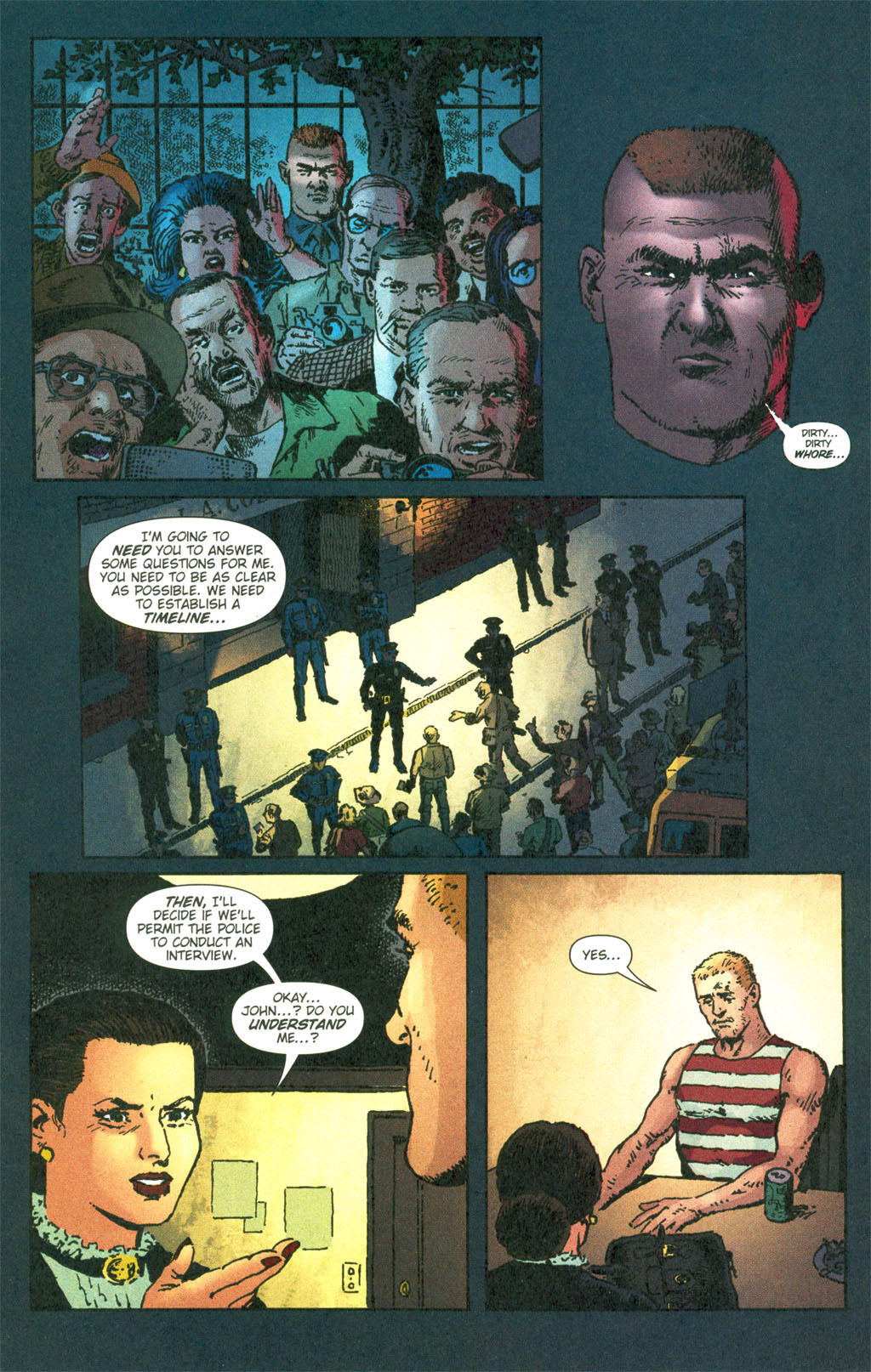Read online Caper comic -  Issue #6 - 14